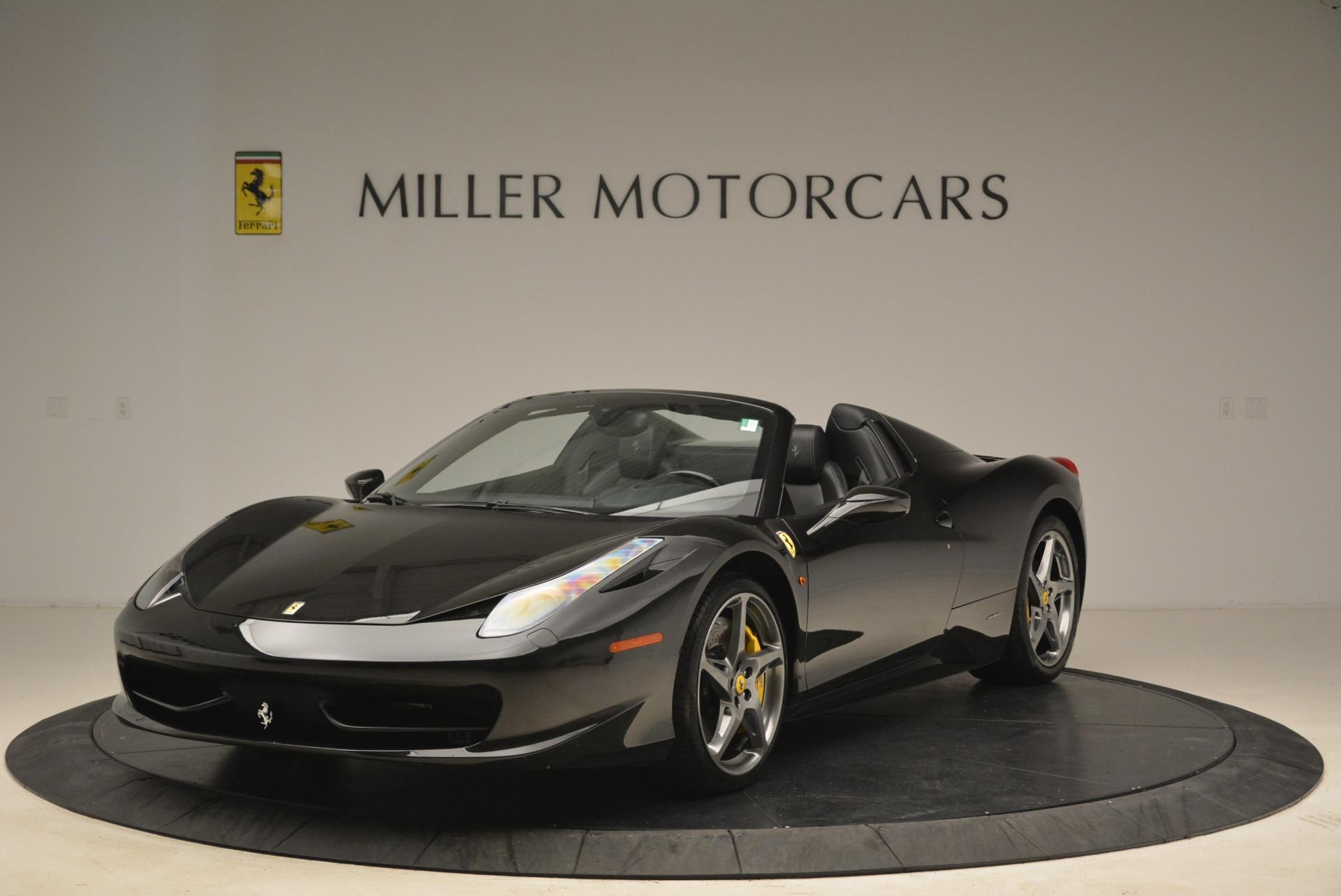 Used 2013 Ferrari 458 Spider  For Sale In Greenwich, CT. Alfa Romeo of Greenwich, 4462A 2257_main