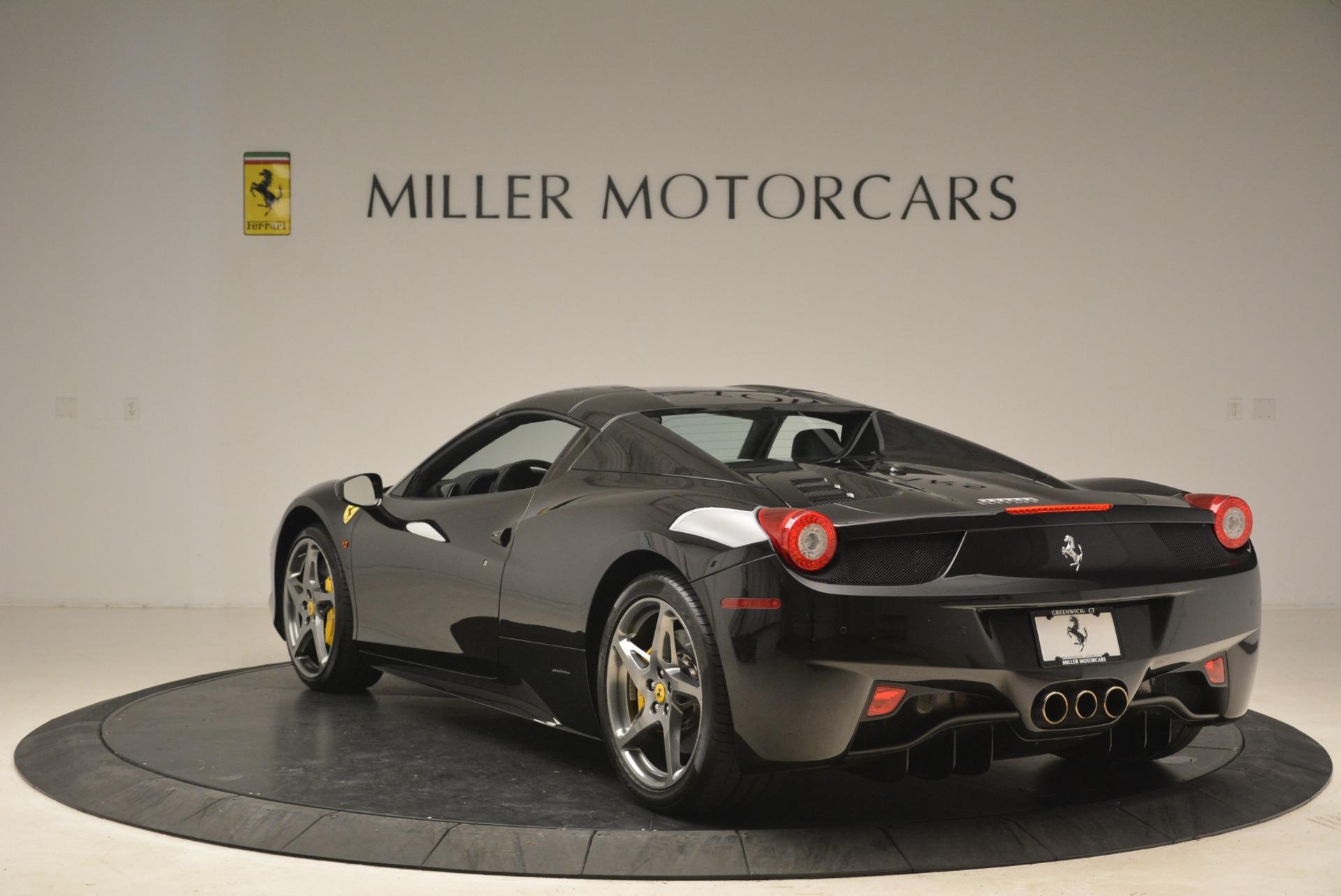Used 2013 Ferrari 458 Spider  For Sale In Greenwich, CT. Alfa Romeo of Greenwich, 4462A 2257_p17