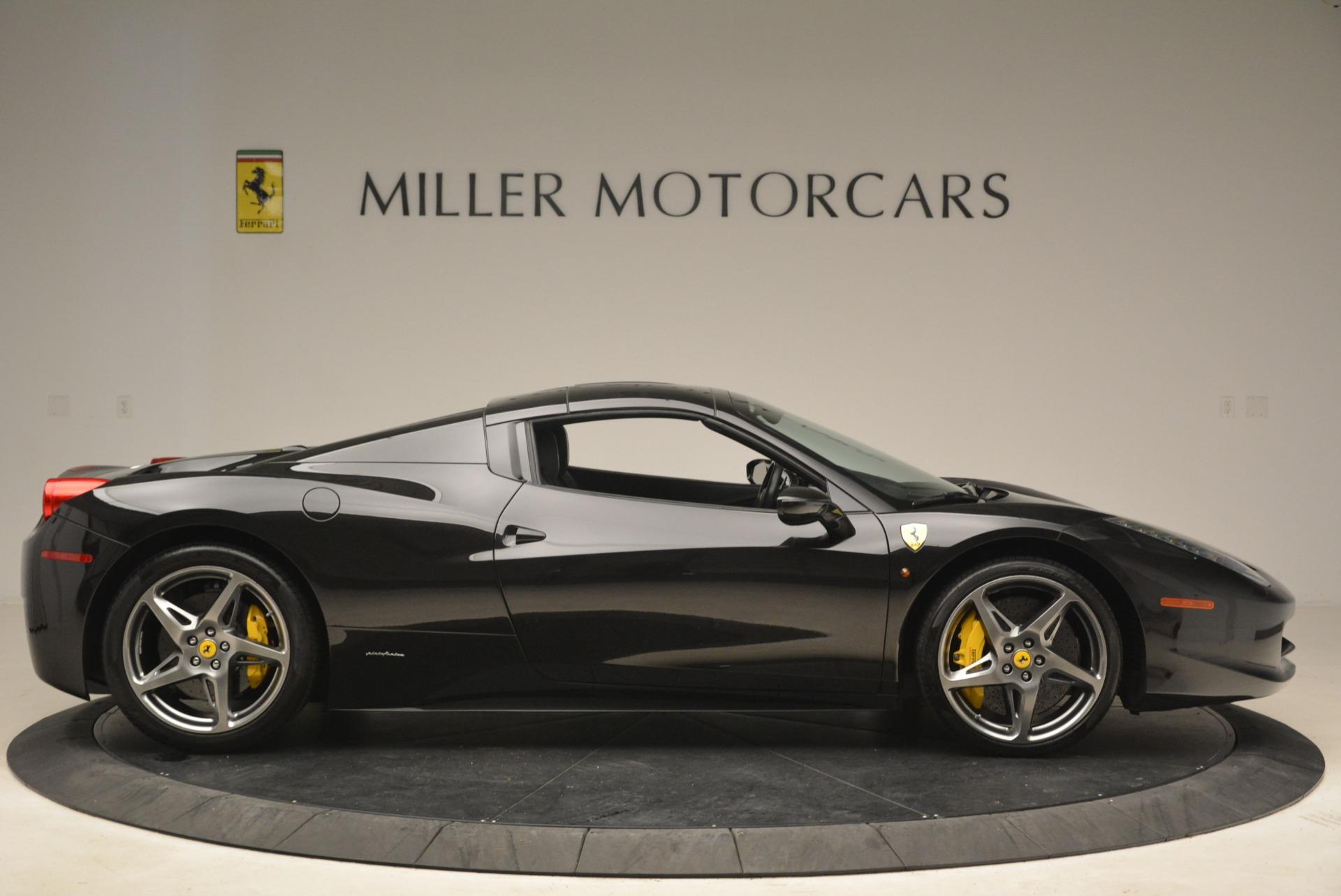 Used 2013 Ferrari 458 Spider  For Sale In Greenwich, CT. Alfa Romeo of Greenwich, 4462A 2257_p21