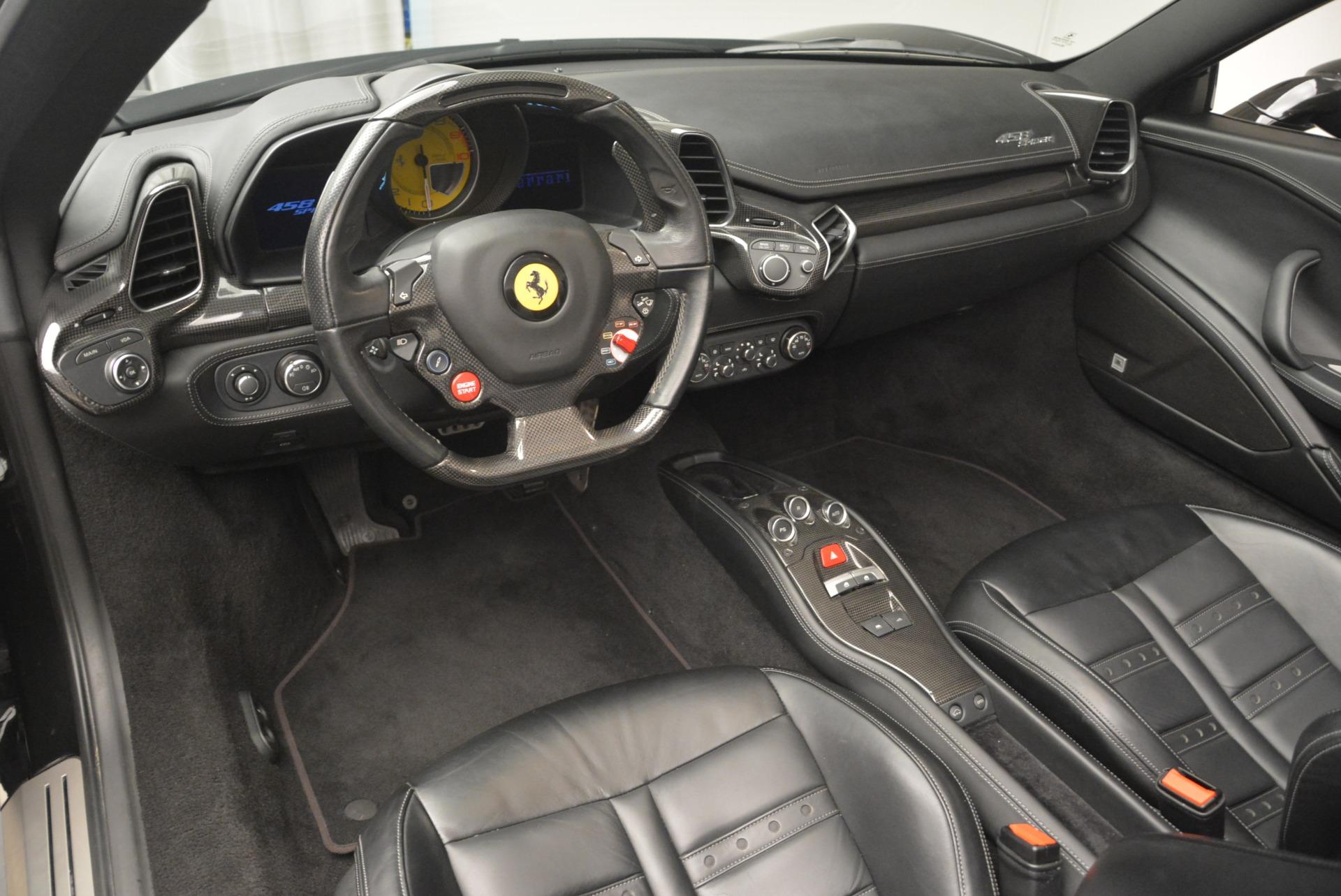 Used 2013 Ferrari 458 Spider  For Sale In Greenwich, CT. Alfa Romeo of Greenwich, 4462A 2257_p25