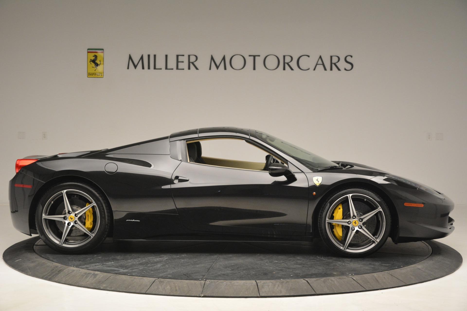 Used 2014 Ferrari 458 Spider  For Sale In Greenwich, CT. Alfa Romeo of Greenwich, 4542 2258_p21