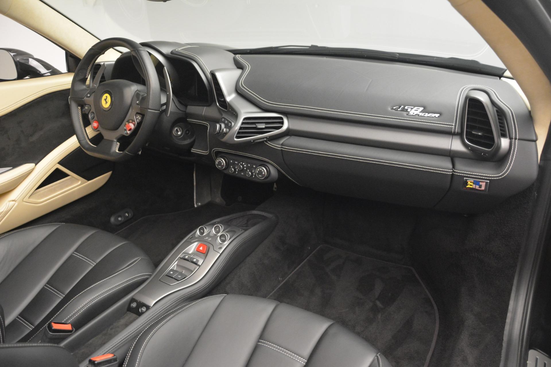 Used 2014 Ferrari 458 Spider  For Sale In Greenwich, CT. Alfa Romeo of Greenwich, 4542 2258_p29