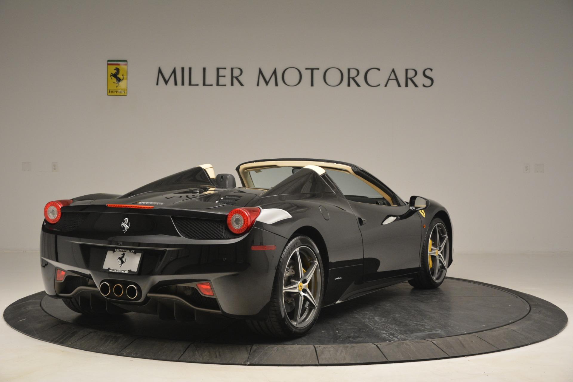Used 2014 Ferrari 458 Spider  For Sale In Greenwich, CT. Alfa Romeo of Greenwich, 4542 2258_p7