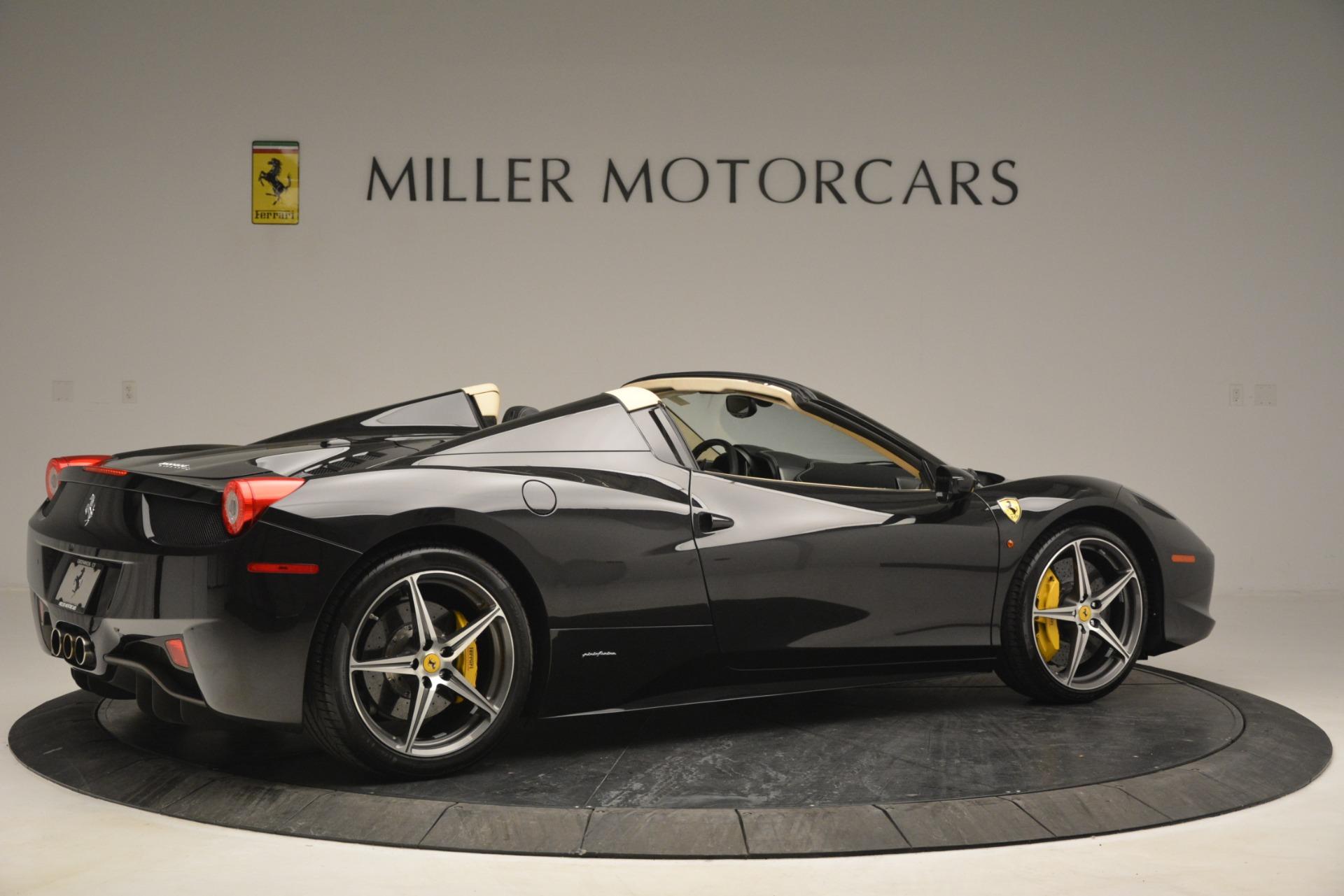 Used 2014 Ferrari 458 Spider  For Sale In Greenwich, CT. Alfa Romeo of Greenwich, 4542 2258_p8
