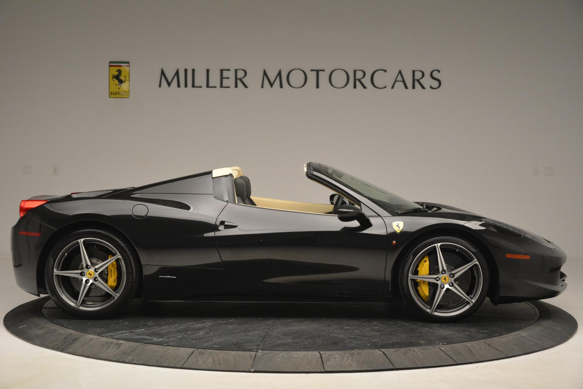 Used 2014 Ferrari 458 Spider  For Sale In Greenwich, CT. Alfa Romeo of Greenwich, 4542 2258_p9