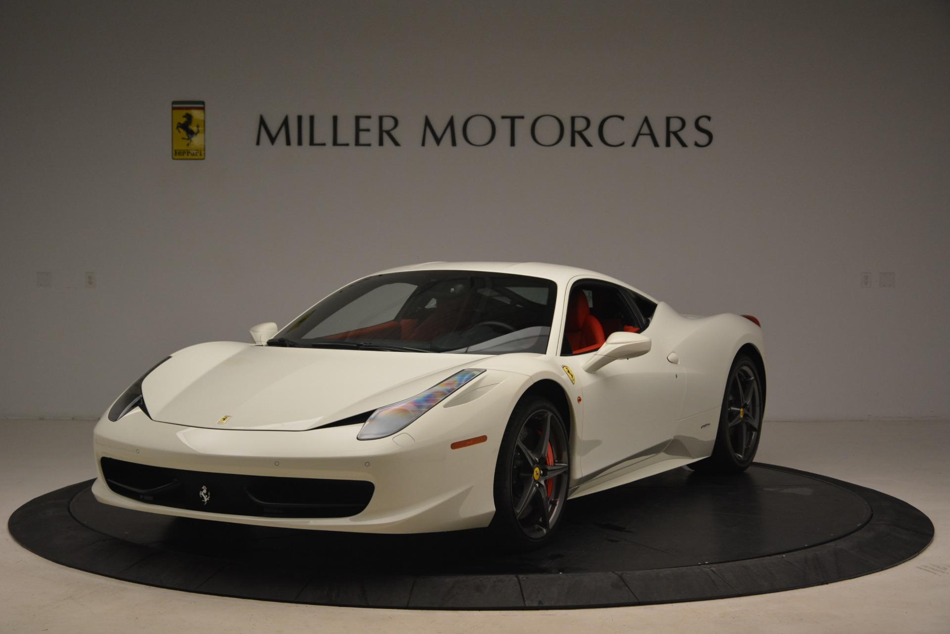 Used 2014 Ferrari 458 Italia  For Sale In Greenwich, CT. Alfa Romeo of Greenwich, 4482 2260_main