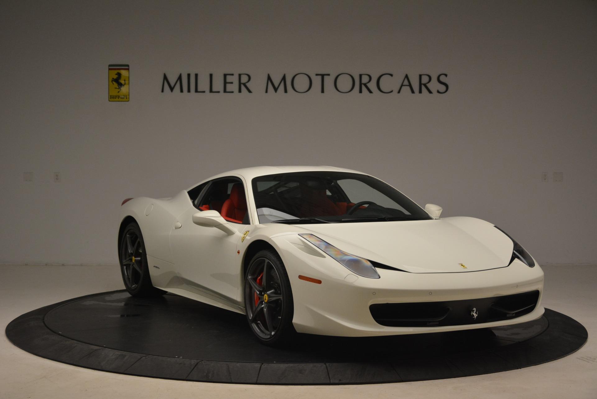 Used 2014 Ferrari 458 Italia  For Sale In Greenwich, CT. Alfa Romeo of Greenwich, 4482 2260_p11