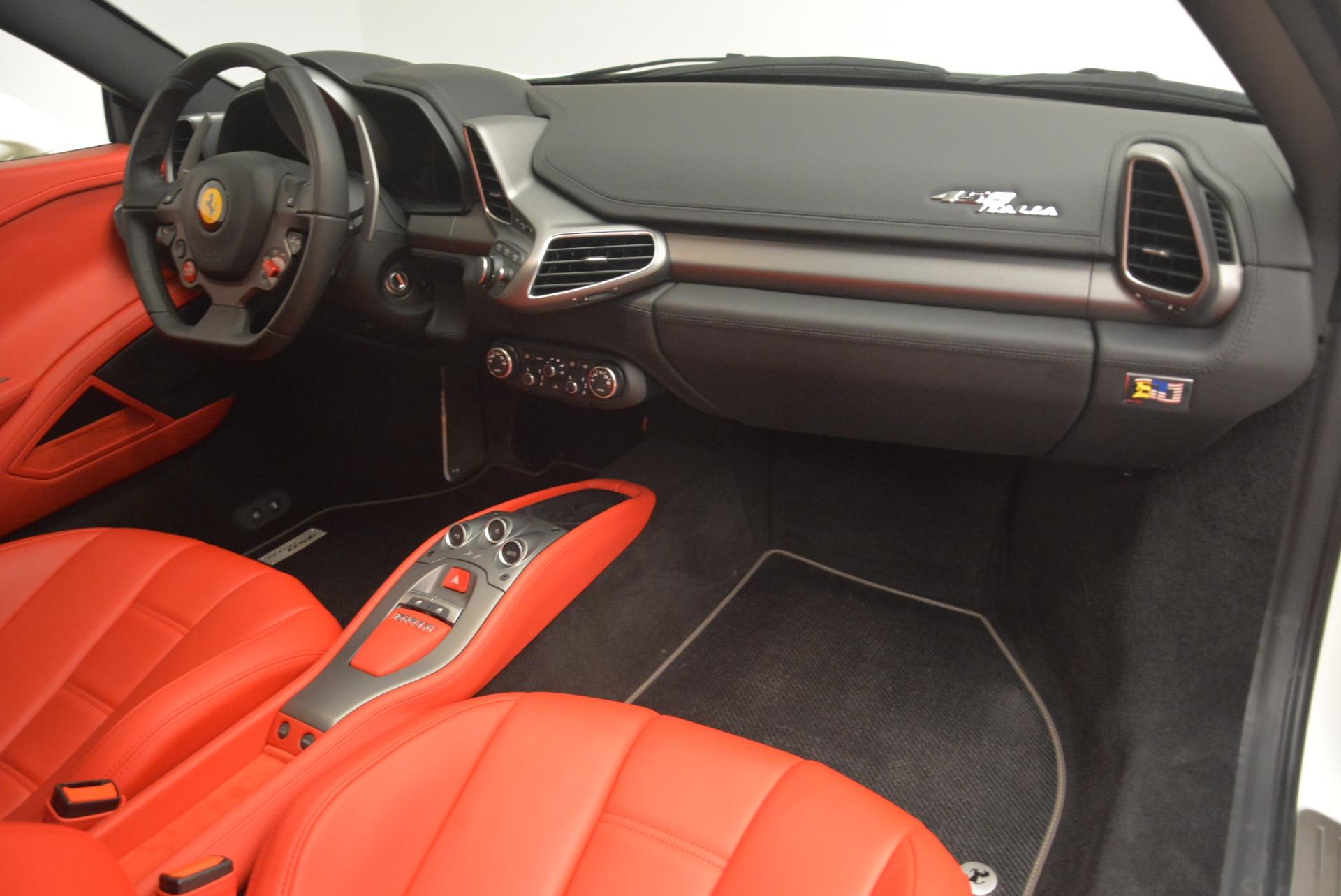 Used 2014 Ferrari 458 Italia  For Sale In Greenwich, CT. Alfa Romeo of Greenwich, 4482 2260_p17