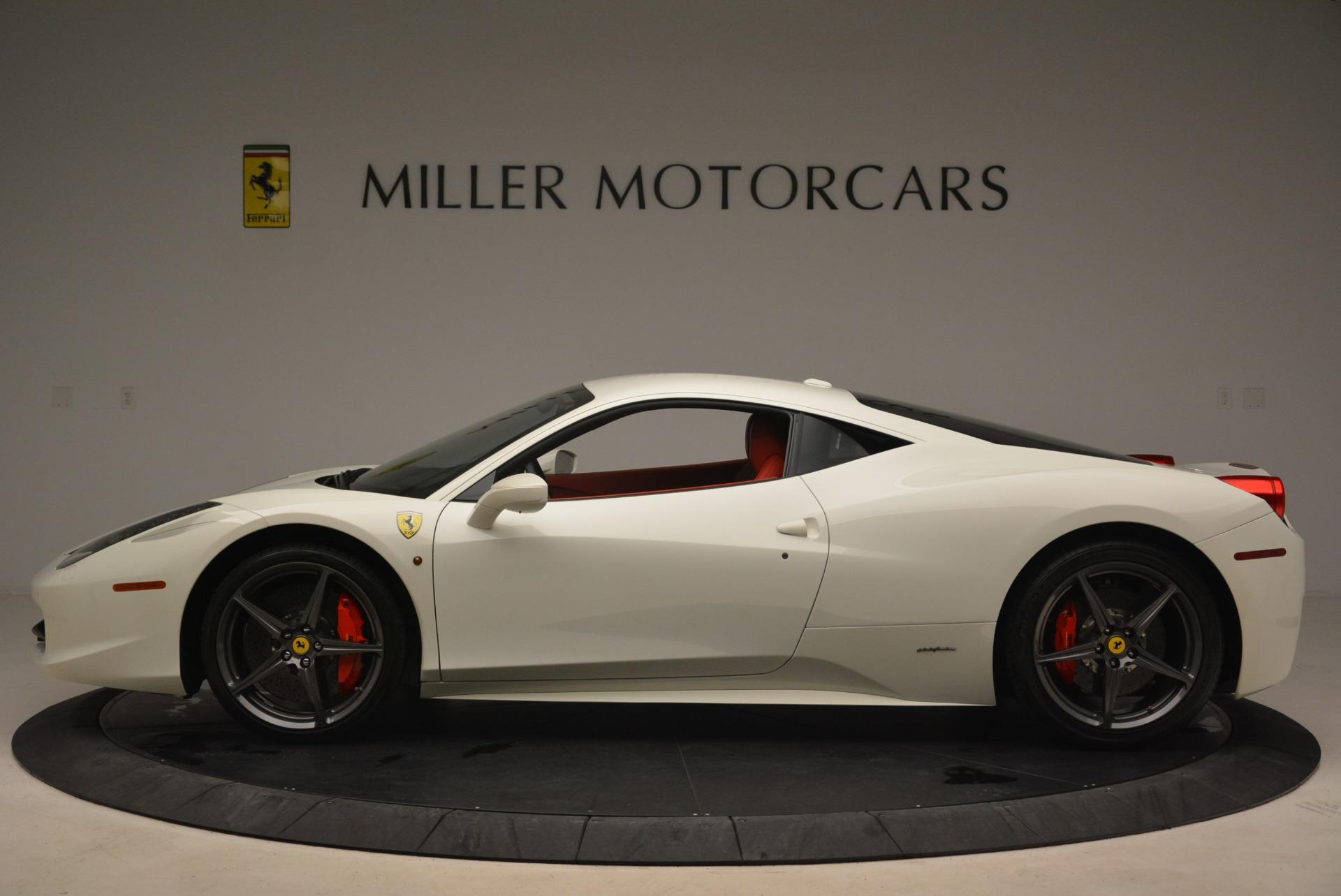Used 2014 Ferrari 458 Italia  For Sale In Greenwich, CT. Alfa Romeo of Greenwich, 4482 2260_p3