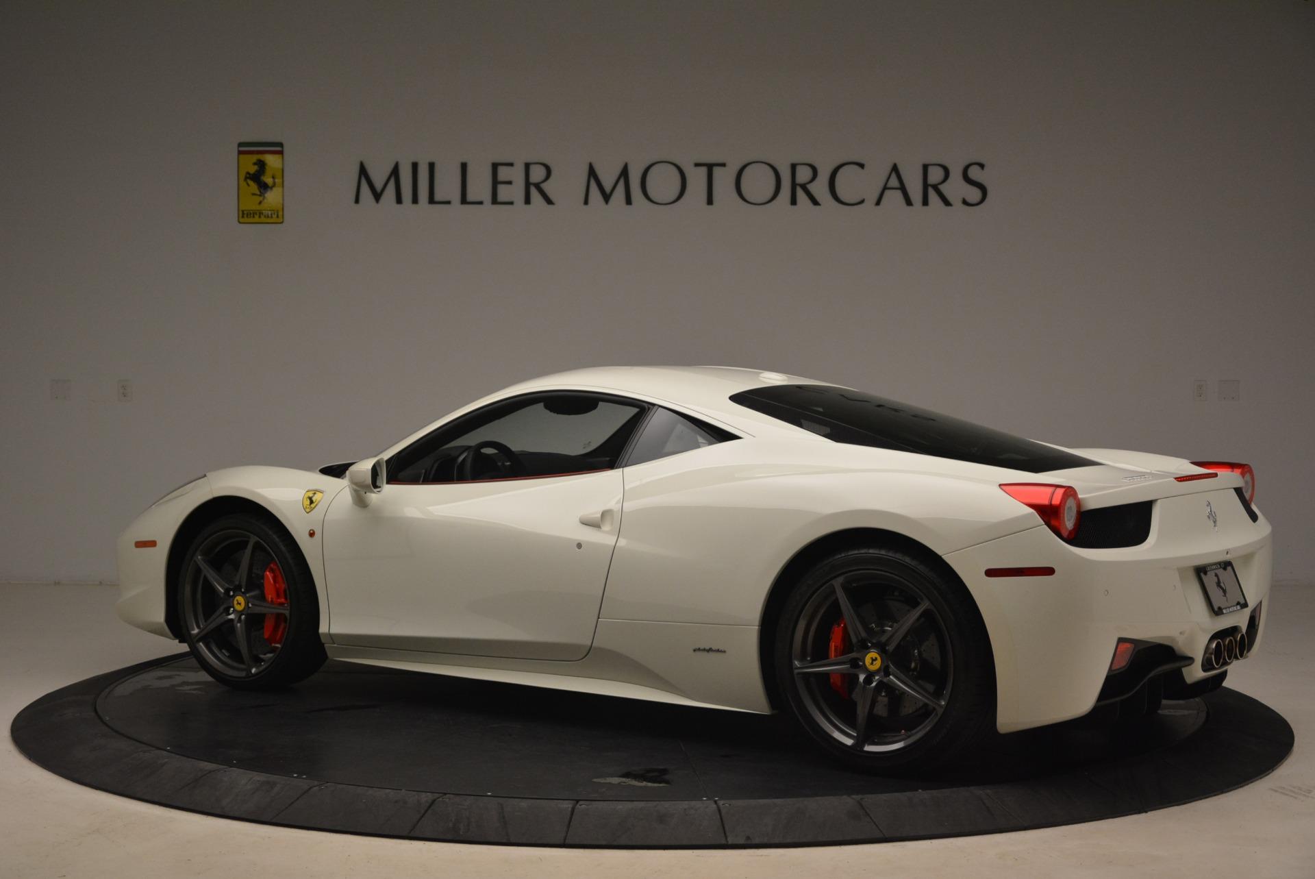 Used 2014 Ferrari 458 Italia  For Sale In Greenwich, CT. Alfa Romeo of Greenwich, 4482 2260_p4