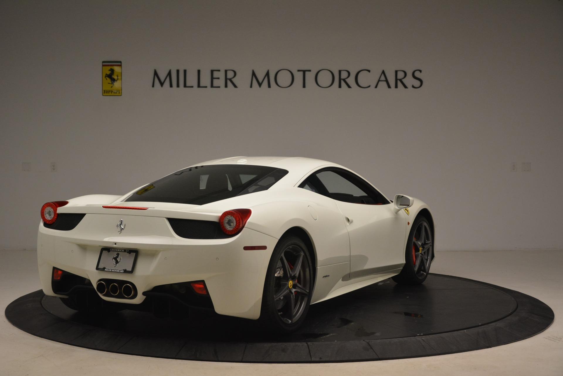 Used 2014 Ferrari 458 Italia  For Sale In Greenwich, CT. Alfa Romeo of Greenwich, 4482 2260_p7