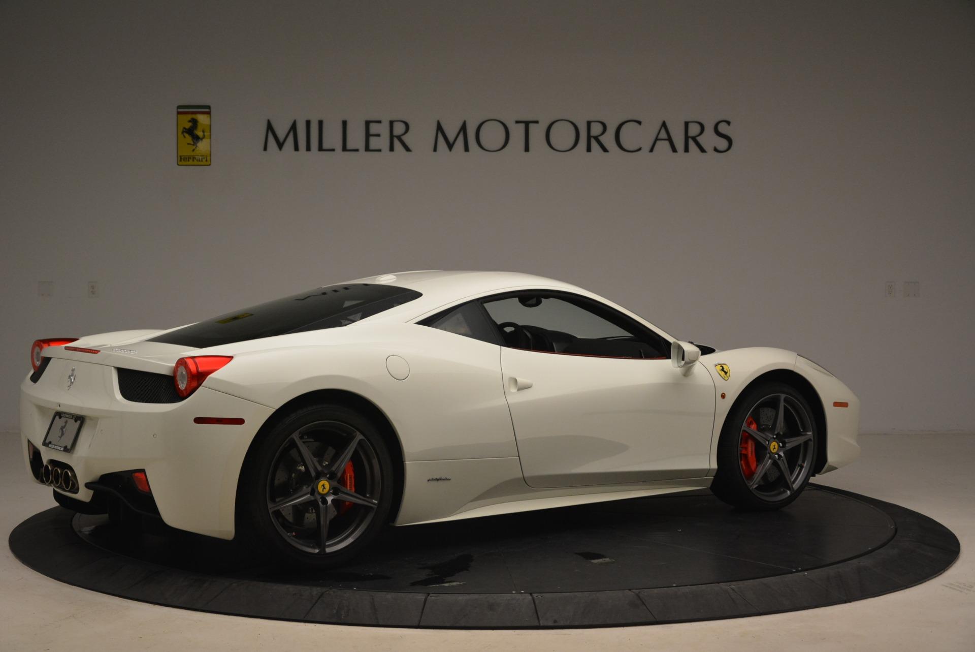 Used 2014 Ferrari 458 Italia  For Sale In Greenwich, CT. Alfa Romeo of Greenwich, 4482 2260_p8