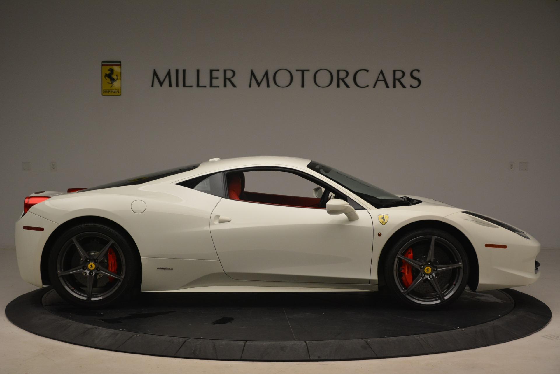 Used 2014 Ferrari 458 Italia  For Sale In Greenwich, CT. Alfa Romeo of Greenwich, 4482 2260_p9