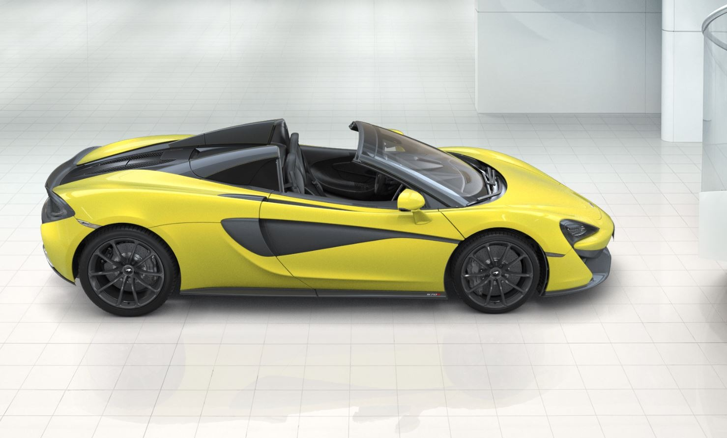 Used 2018 McLaren 570S Spider For Sale In Greenwich, CT. Alfa Romeo of Greenwich, 3141 2264_p3