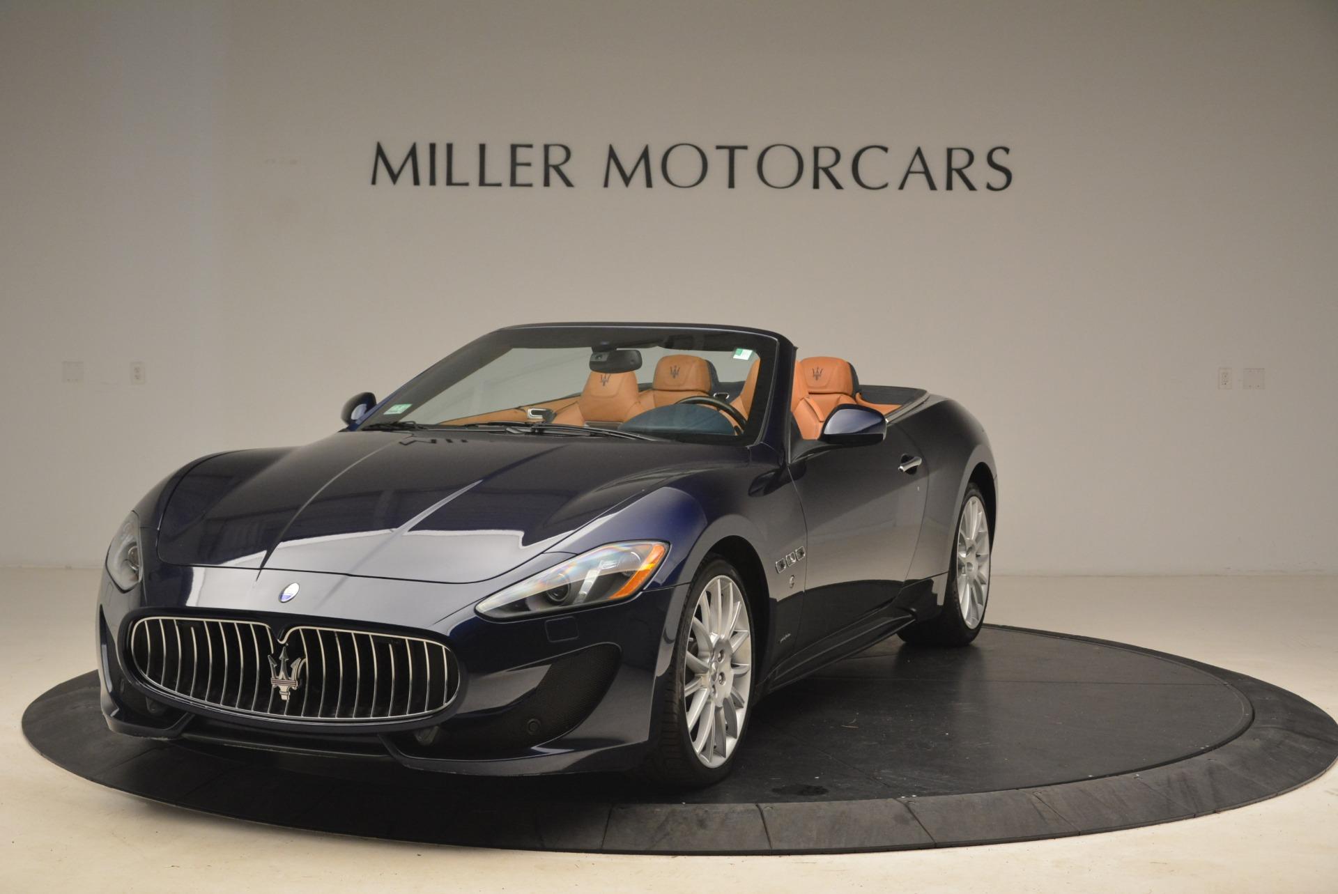 Used 2014 Maserati GranTurismo Sport For Sale In Greenwich, CT. Alfa Romeo of Greenwich, 7370 2269_main