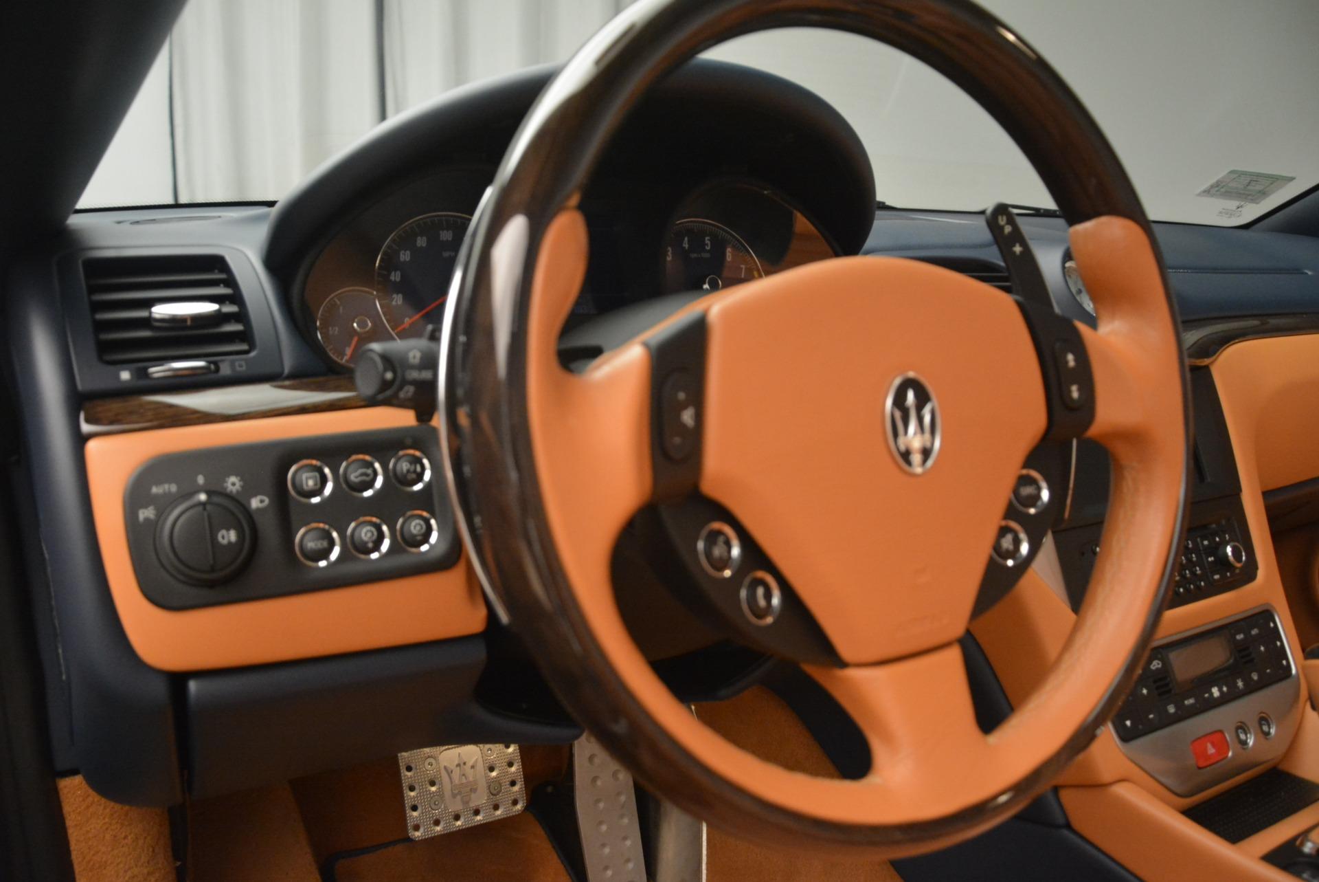 Used 2014 Maserati GranTurismo Sport For Sale In Greenwich, CT. Alfa Romeo of Greenwich, 7370 2269_p26
