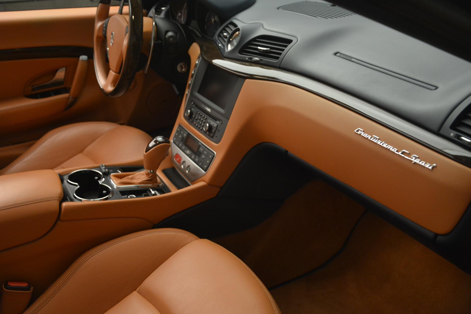 Used 2014 Maserati GranTurismo Sport For Sale In Greenwich, CT. Alfa Romeo of Greenwich, 7370 2269_p28