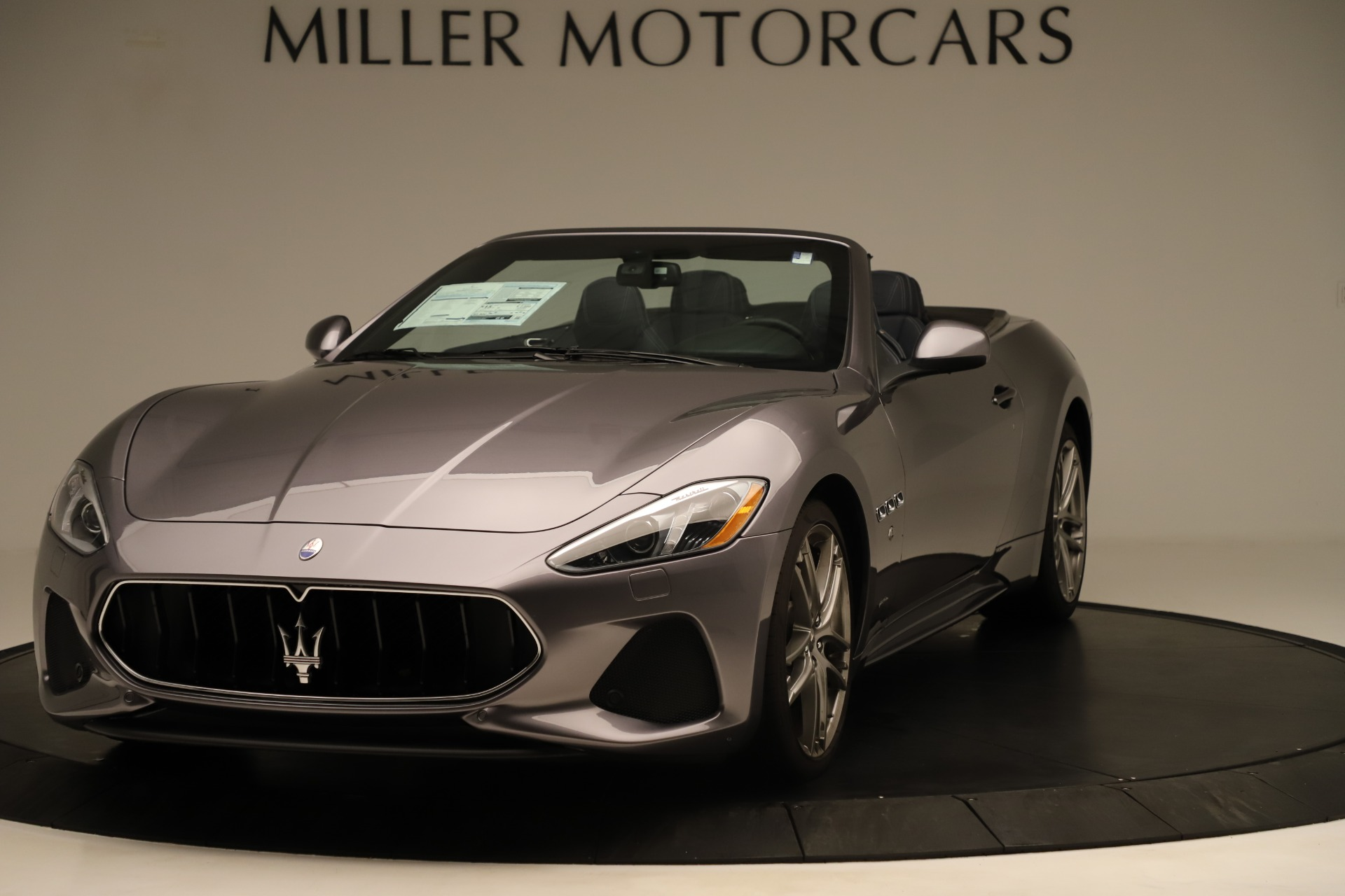 New 2018 Maserati GranTurismo Sport Convertible For Sale $159325 In Greenwich, CT 2272_main