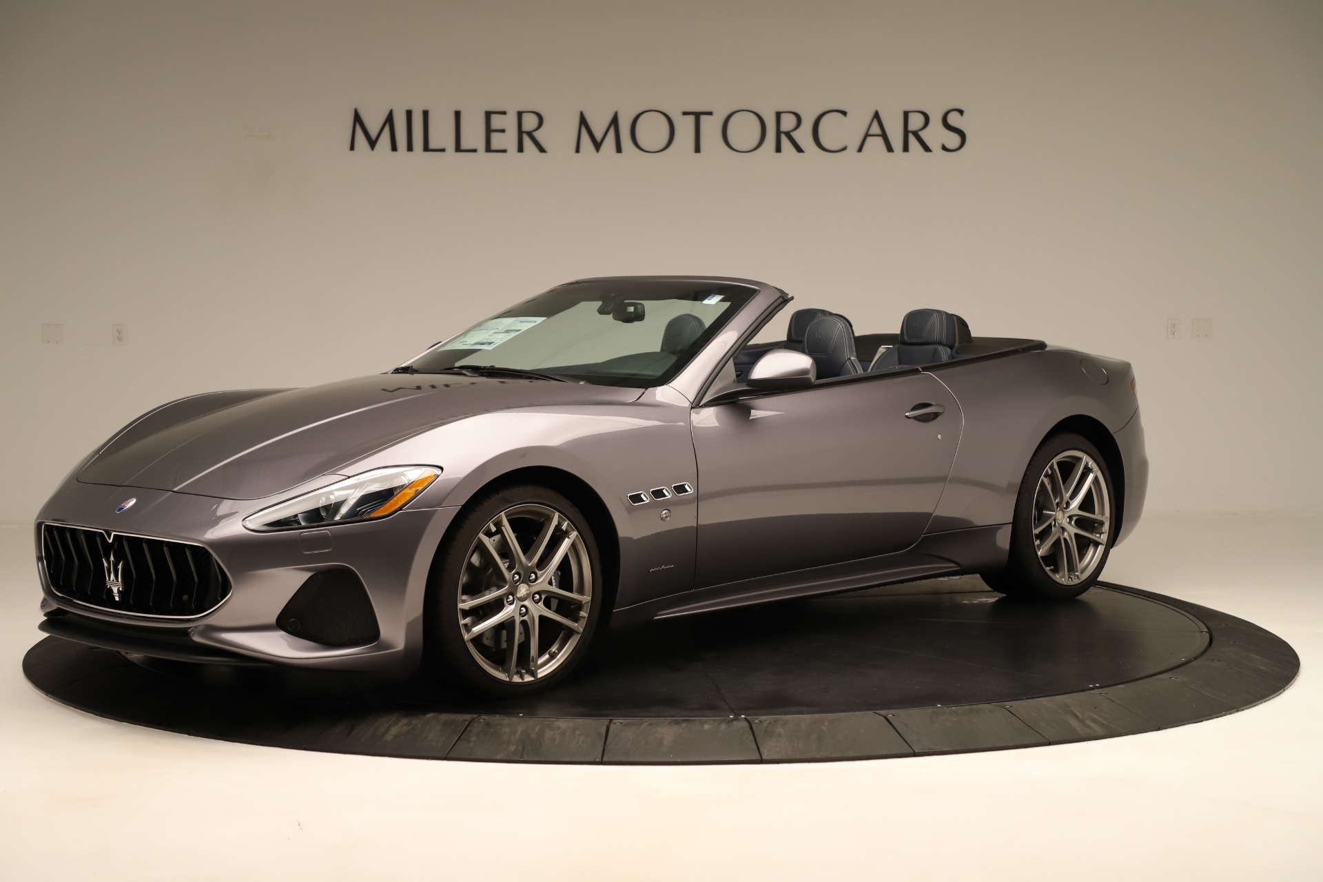 New 2018 Maserati GranTurismo Sport Convertible For Sale $159325 In Greenwich, CT 2272_p3