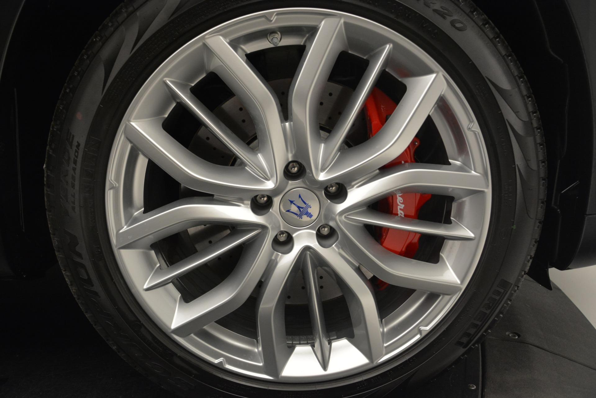 New 2018 Maserati Levante S Q4 GranSport For Sale In Greenwich, CT. Alfa Romeo of Greenwich, M2147 2273_p30
