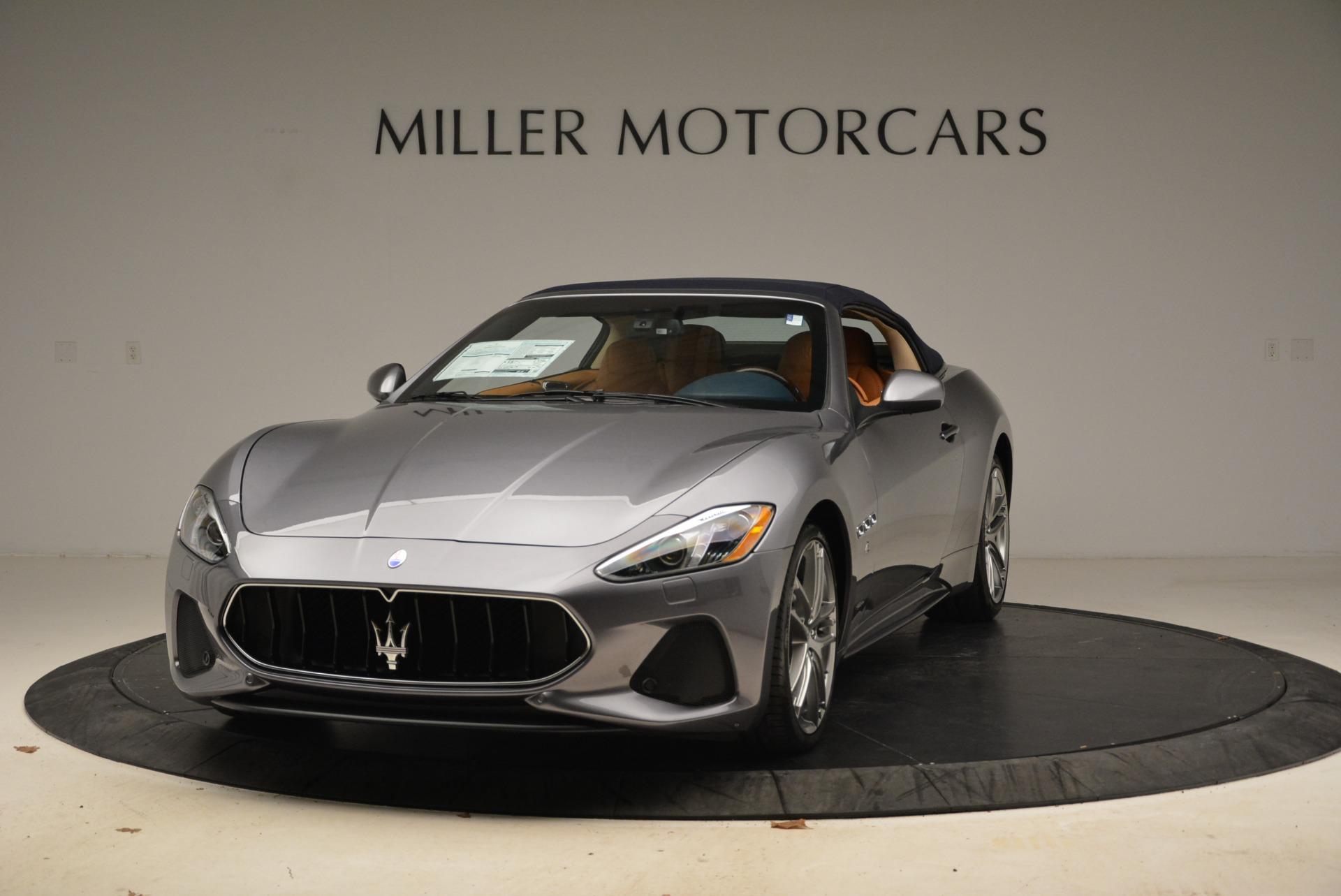 New 2018 Maserati GranTurismo Sport Convertible For Sale In Greenwich, CT. Alfa Romeo of Greenwich, W594 2276_main