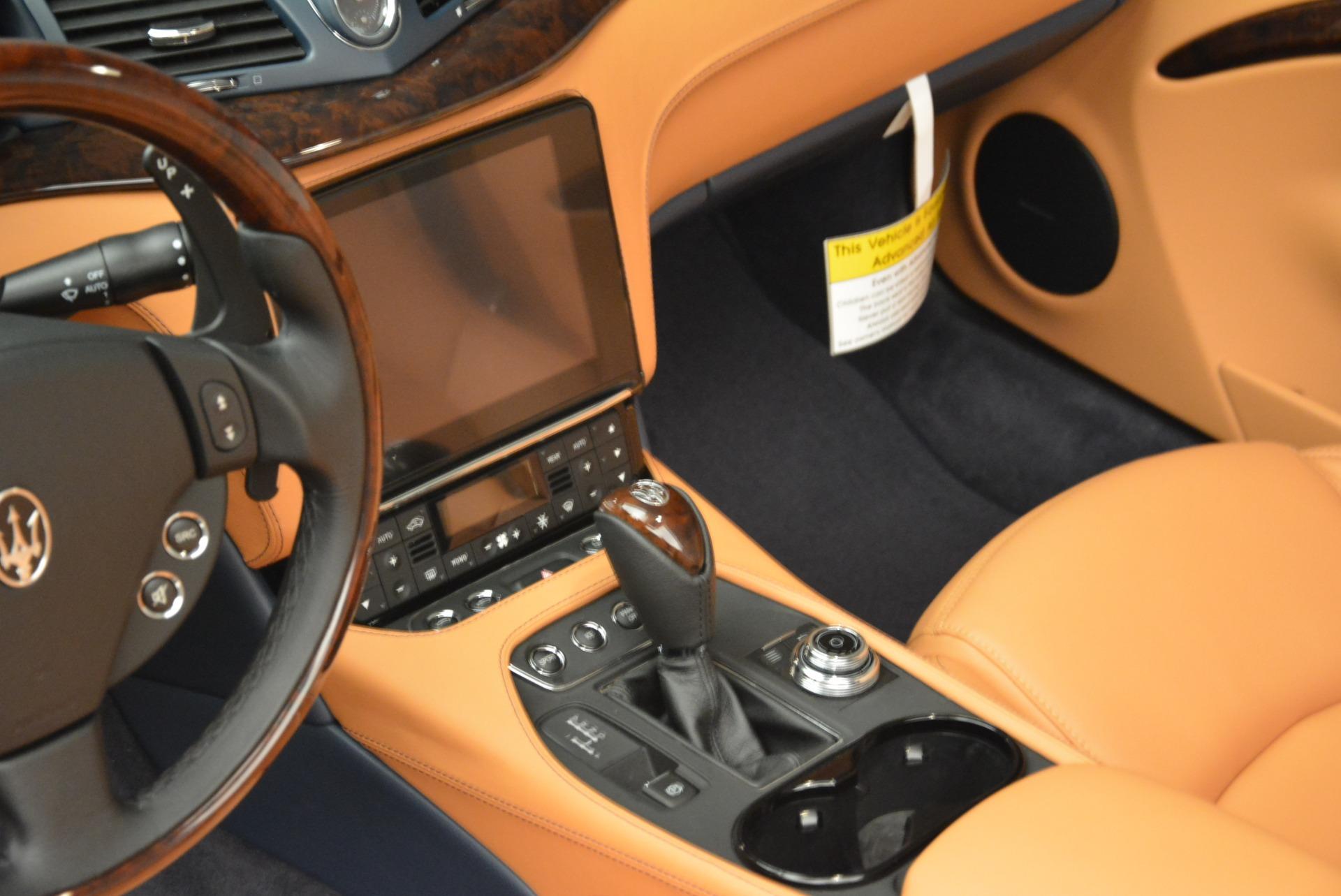 New 2018 Maserati GranTurismo Sport Convertible For Sale In Greenwich, CT. Alfa Romeo of Greenwich, W594 2276_p13