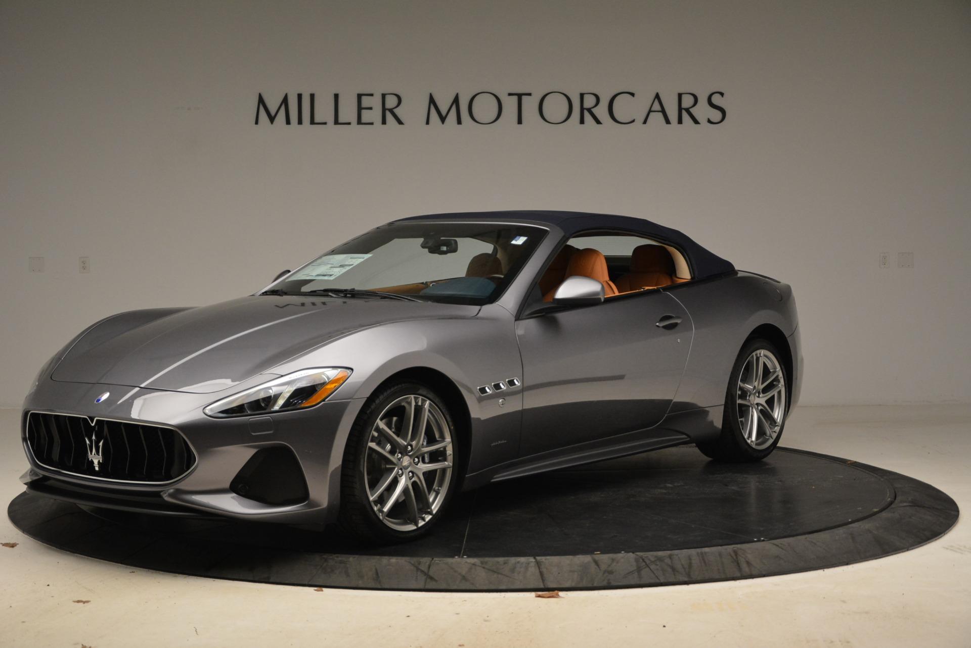 New 2018 Maserati GranTurismo Sport Convertible For Sale In Greenwich, CT. Alfa Romeo of Greenwich, W594 2276_p2