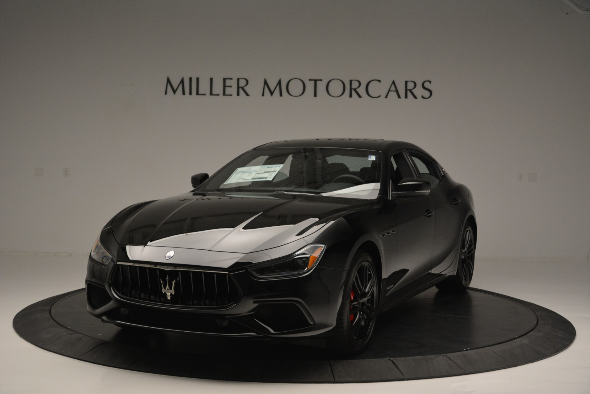 New 2018 Maserati Ghibli SQ4 GranSport Nerissimo For Sale In Greenwich, CT. Alfa Romeo of Greenwich, M2149 2278_main