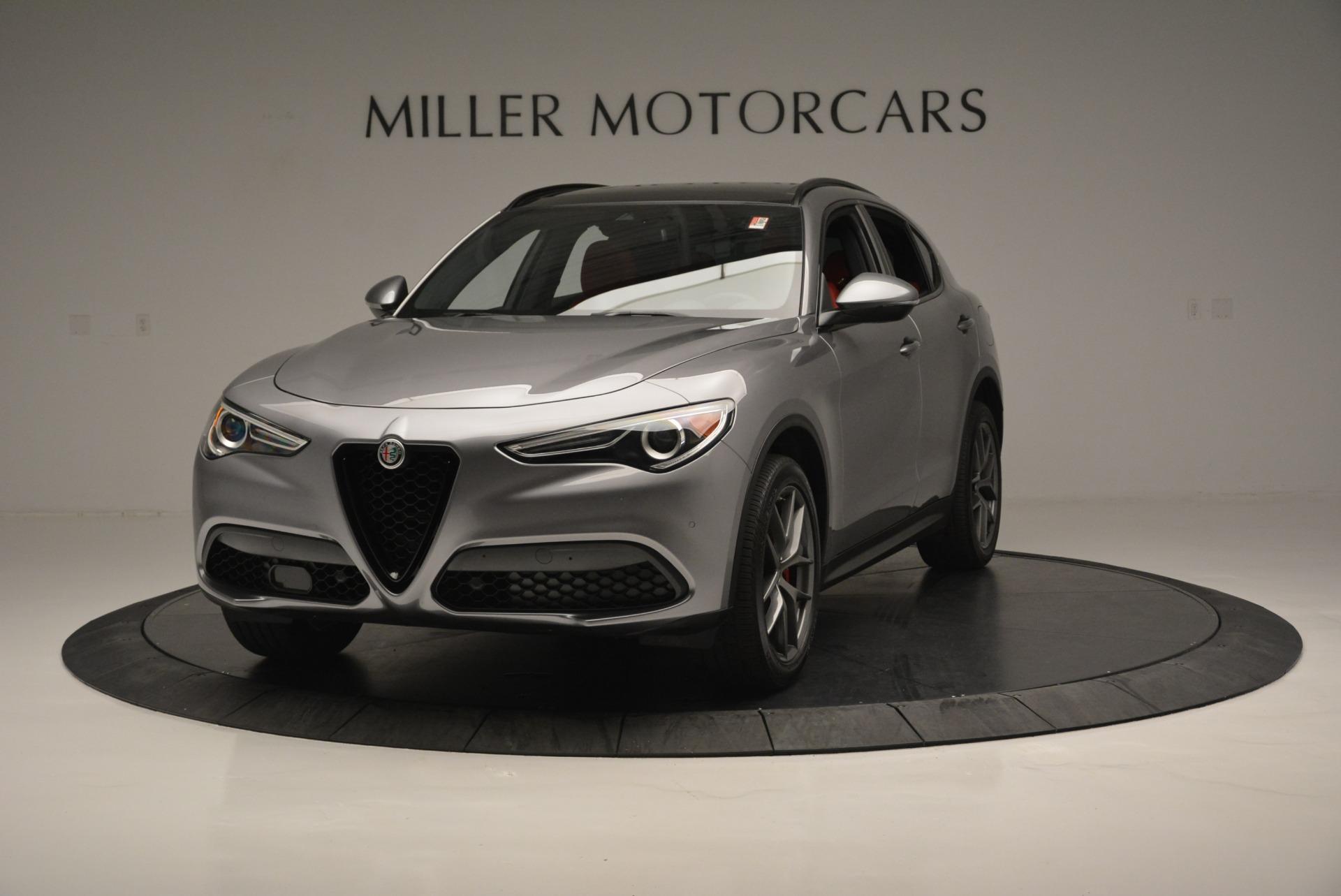 New 2018 Alfa Romeo Stelvio Ti Sport Q4 For Sale In Greenwich, CT. Alfa Romeo of Greenwich, L411 2299_main