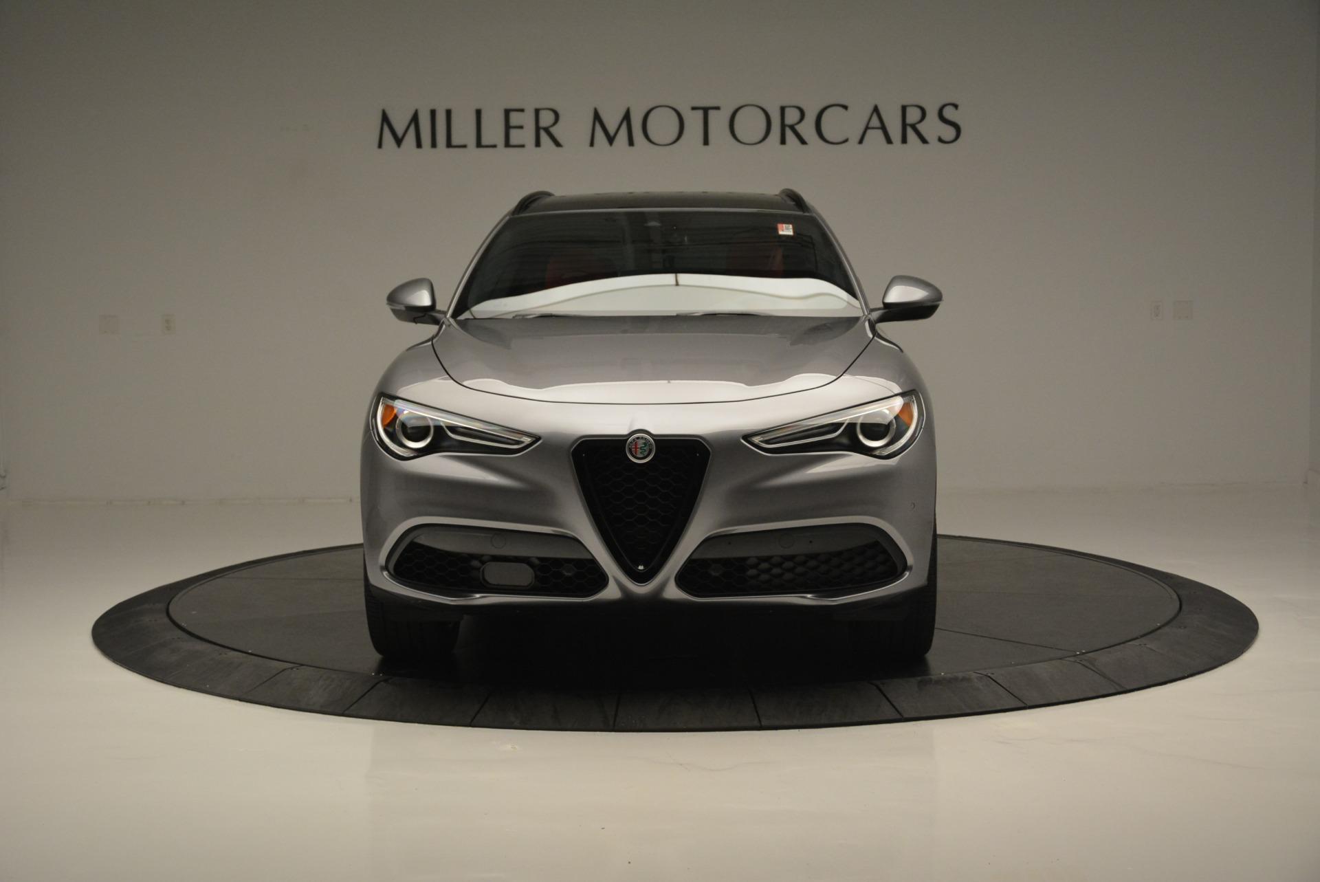 New 2018 Alfa Romeo Stelvio Ti Sport Q4 For Sale In Greenwich, CT. Alfa Romeo of Greenwich, L411 2299_p12