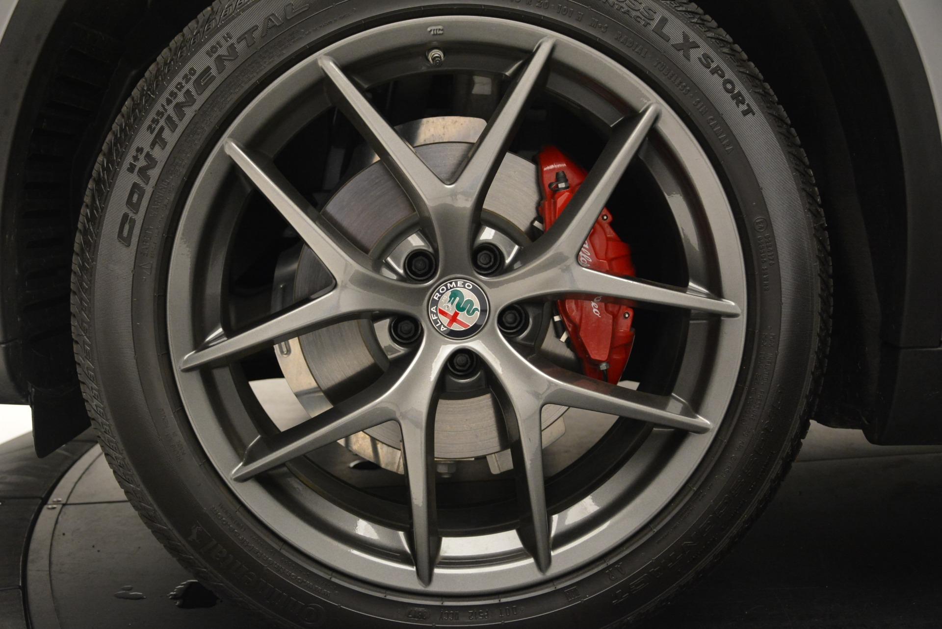 New 2018 Alfa Romeo Stelvio Ti Sport Q4 For Sale In Greenwich, CT. Alfa Romeo of Greenwich, L411 2299_p28