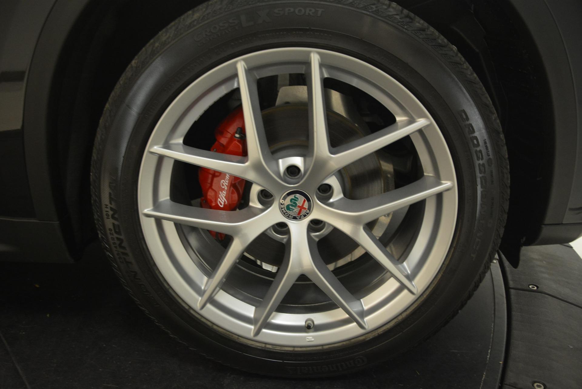 New 2018 Alfa Romeo Stelvio Ti Sport Q4 For Sale In Greenwich, CT. Alfa Romeo of Greenwich, LW172 2300_p25