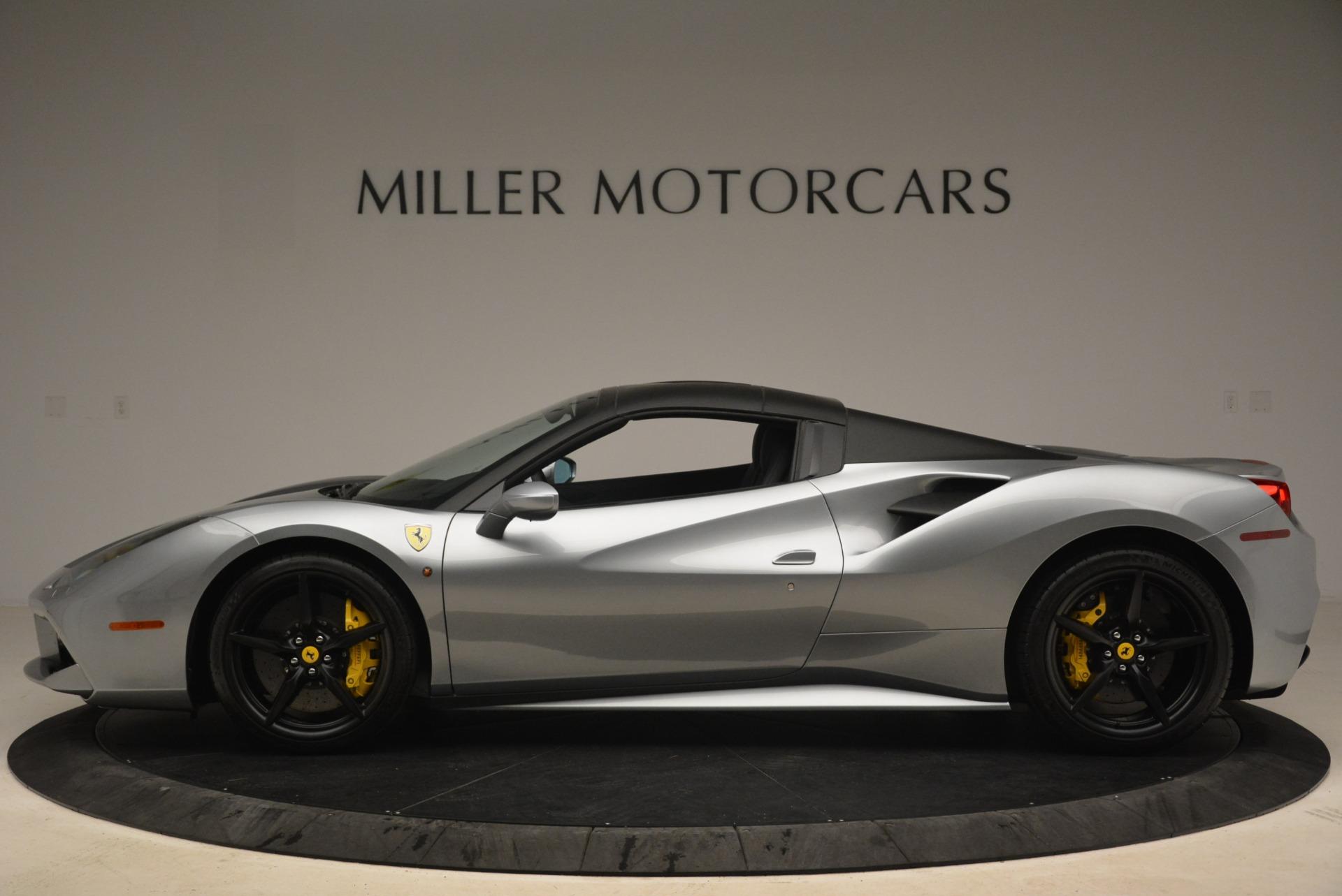 Used 2018 Ferrari 488 Spider  For Sale In Greenwich, CT. Alfa Romeo of Greenwich, 4612 2306_p15