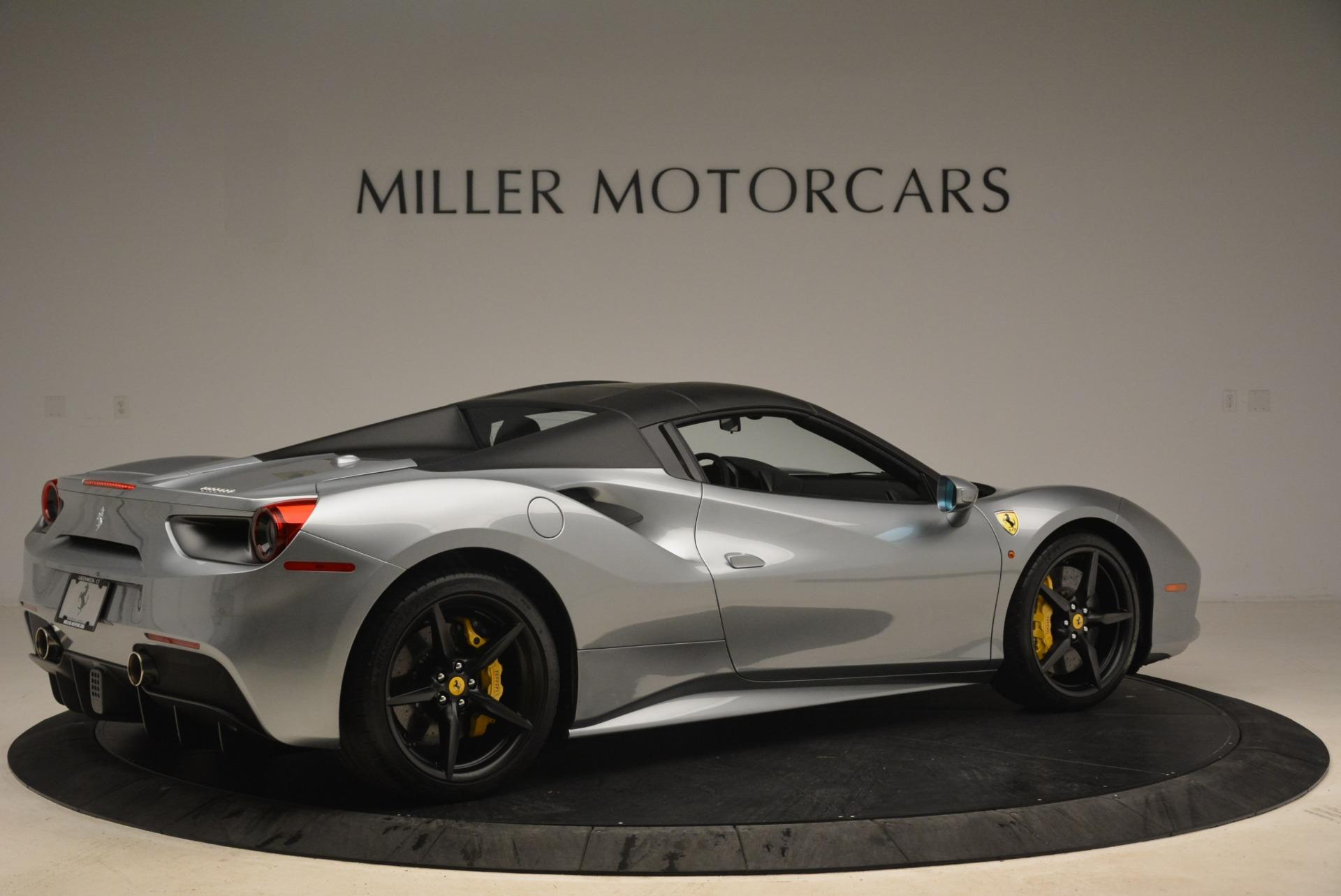 Used 2018 Ferrari 488 Spider  For Sale In Greenwich, CT. Alfa Romeo of Greenwich, 4612 2306_p20