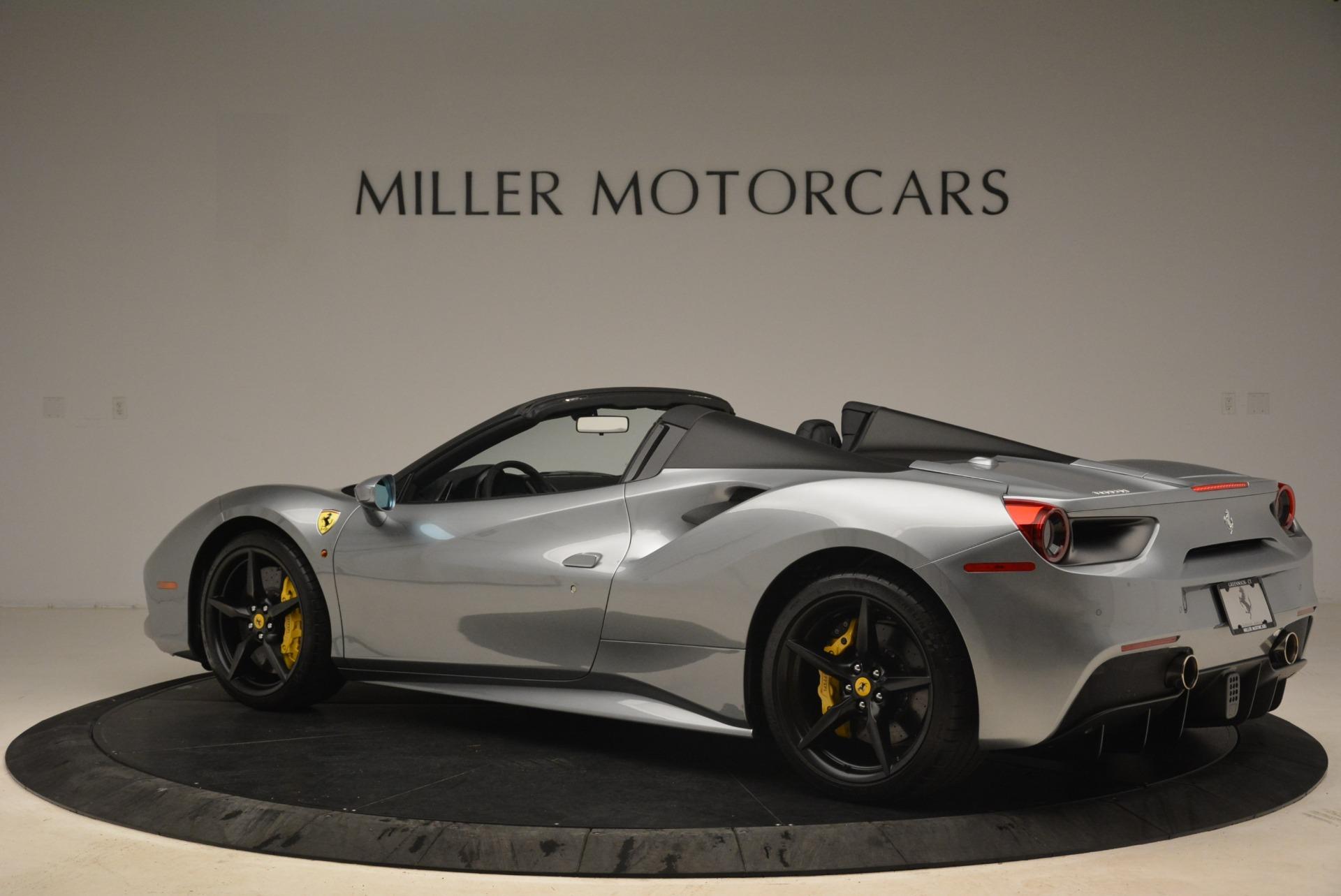 Used 2018 Ferrari 488 Spider  For Sale In Greenwich, CT. Alfa Romeo of Greenwich, 4612 2306_p4