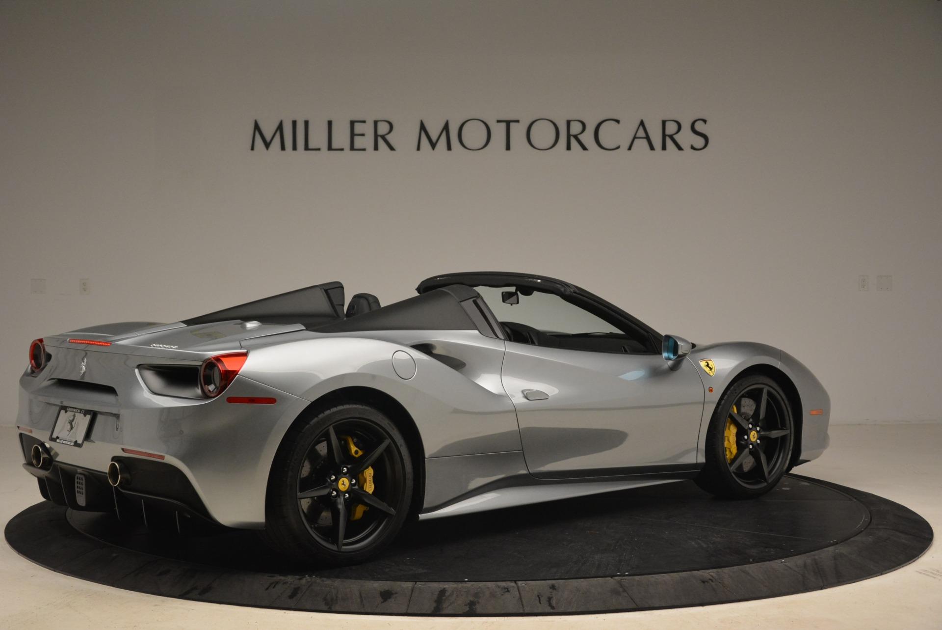 Used 2018 Ferrari 488 Spider  For Sale In Greenwich, CT. Alfa Romeo of Greenwich, 4612 2306_p8