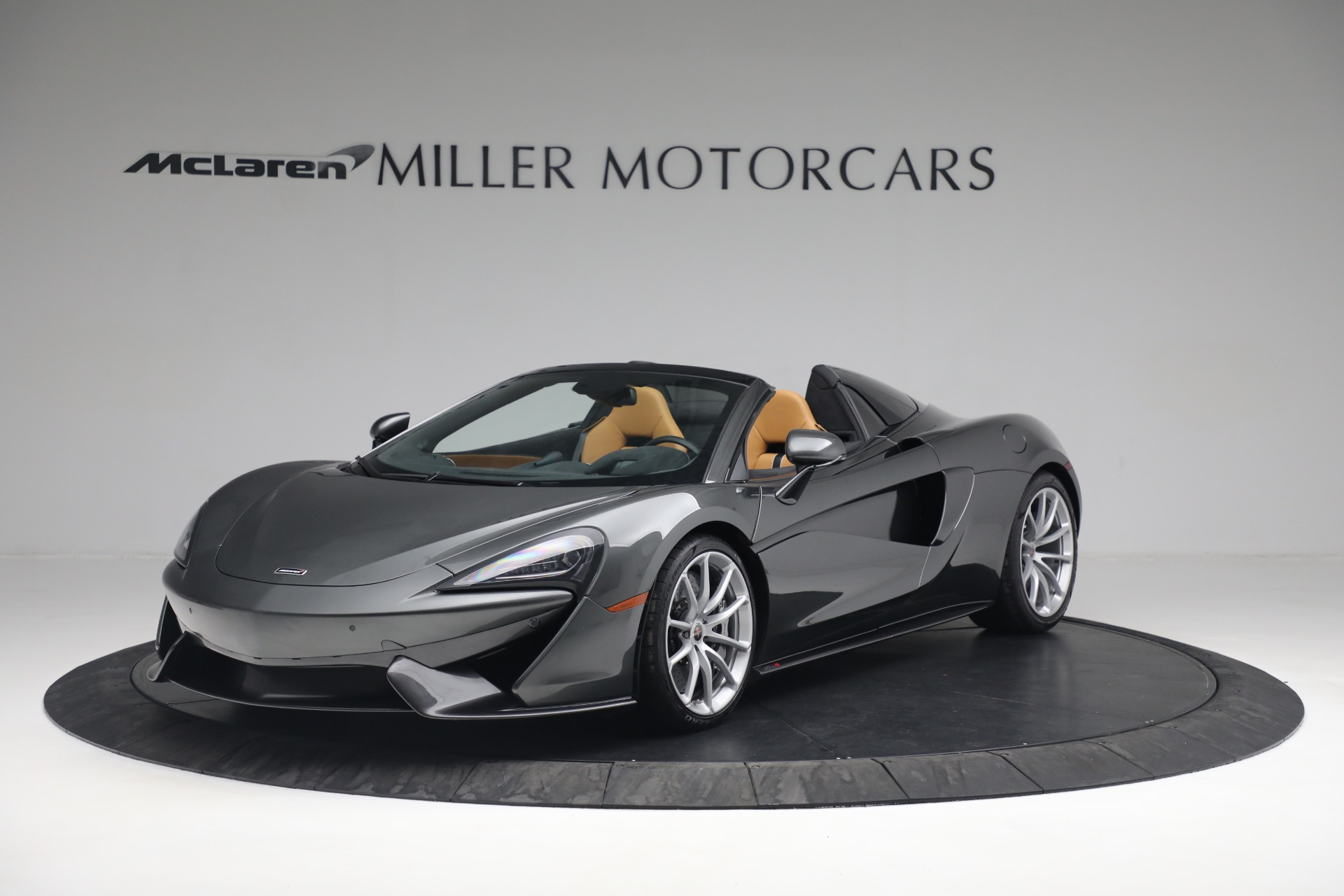 Used 2018 McLaren 570S Spider For Sale In Greenwich, CT. Alfa Romeo of Greenwich, MC363