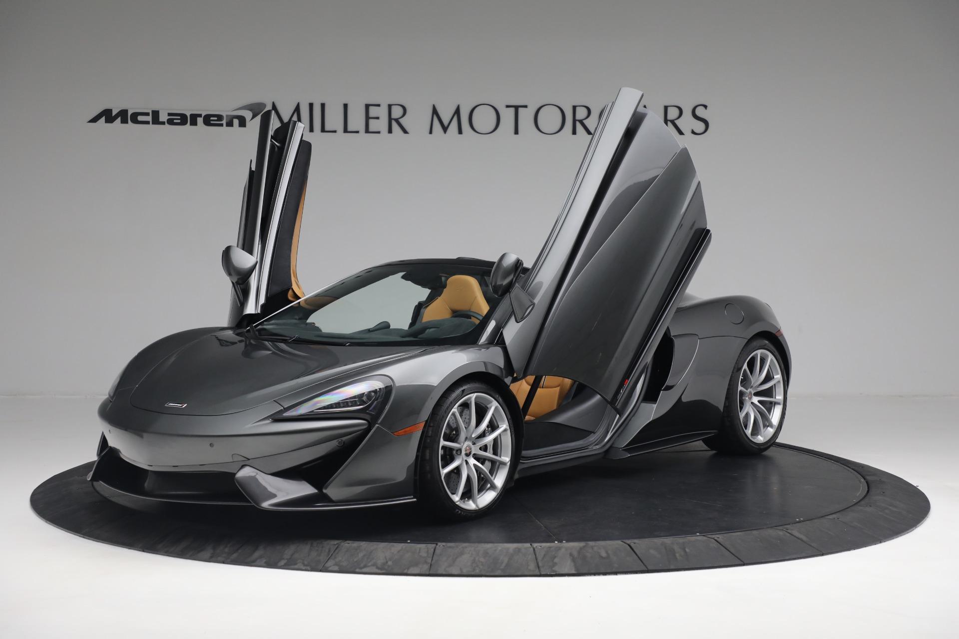 Used 2018 McLaren 570S Spider For Sale In Greenwich, CT. Alfa Romeo of Greenwich, MC363 2308_p20