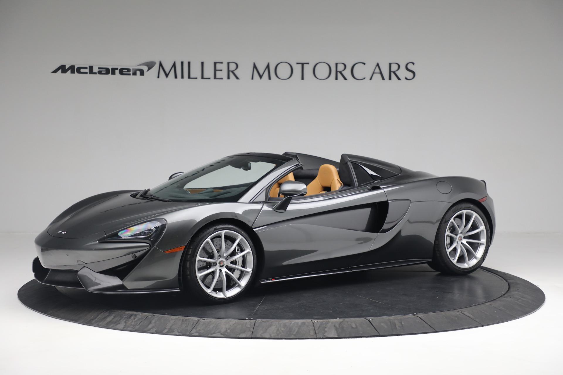 Used 2018 McLaren 570S Spider For Sale In Greenwich, CT. Alfa Romeo of Greenwich, MC363 2308_p2