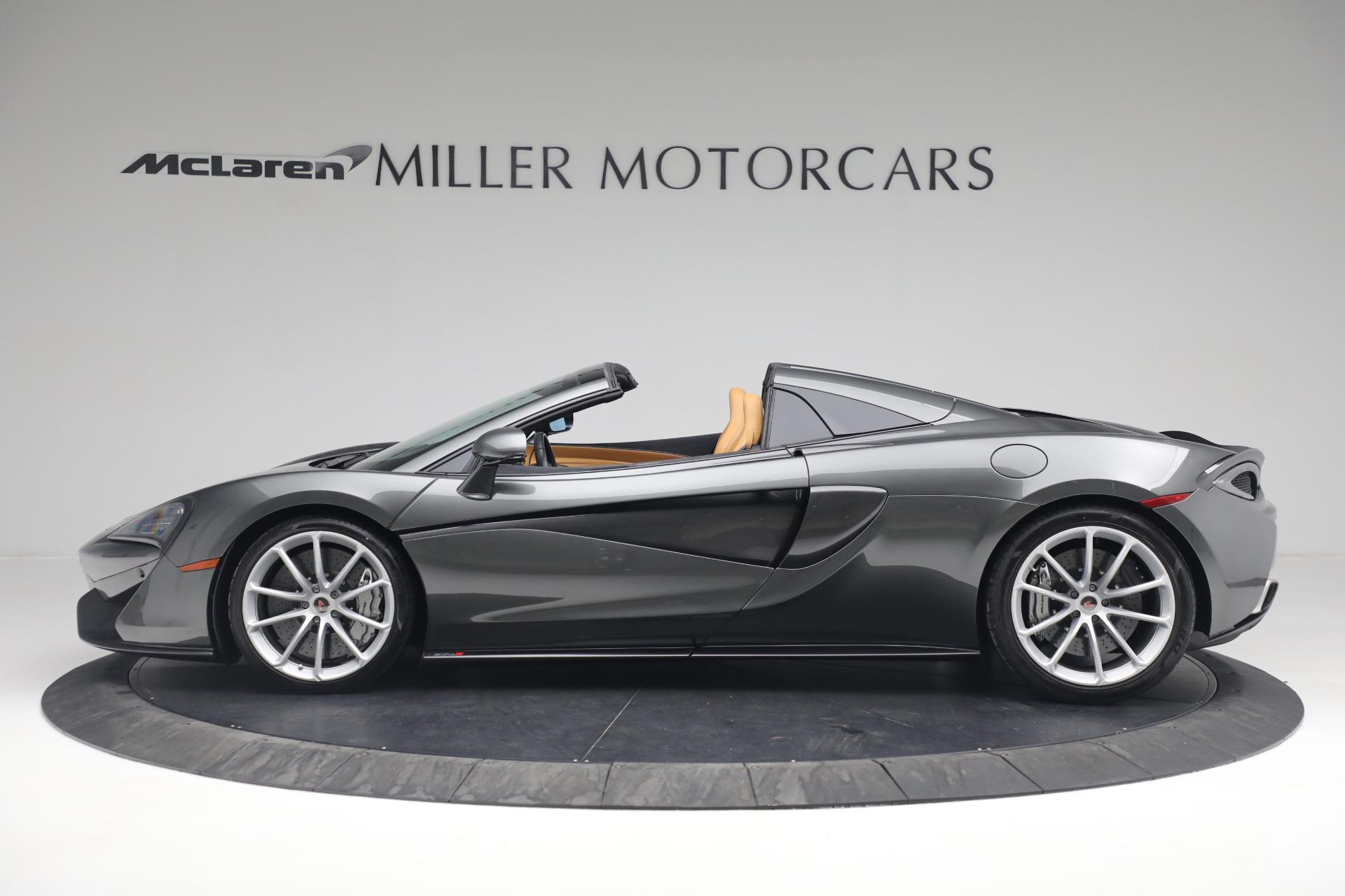 Used 2018 McLaren 570S Spider For Sale In Greenwich, CT. Alfa Romeo of Greenwich, MC363 2308_p3