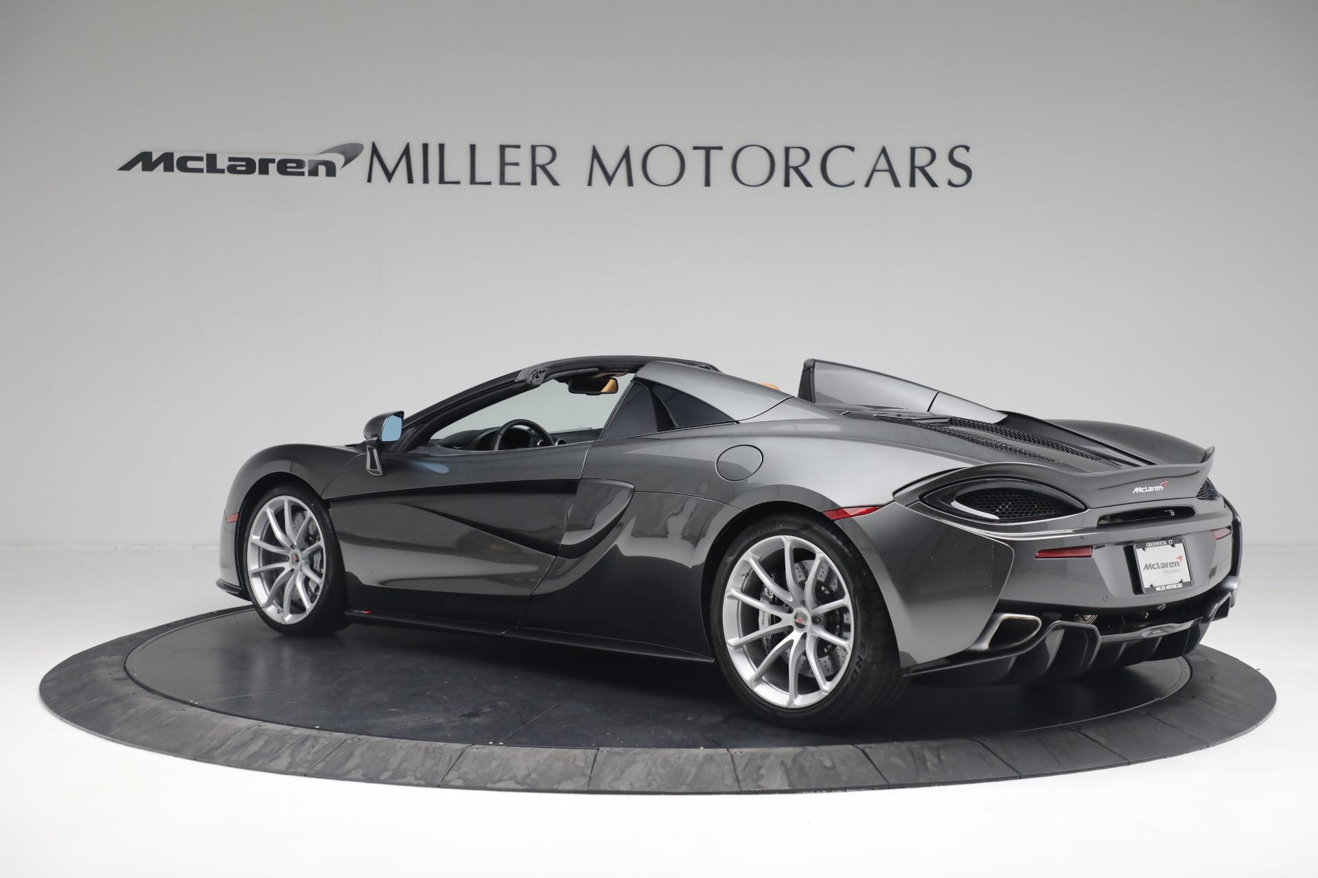 Used 2018 McLaren 570S Spider For Sale In Greenwich, CT. Alfa Romeo of Greenwich, MC363 2308_p4