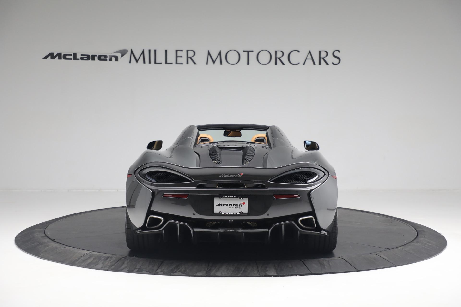 Used 2018 McLaren 570S Spider For Sale In Greenwich, CT. Alfa Romeo of Greenwich, MC363 2308_p6