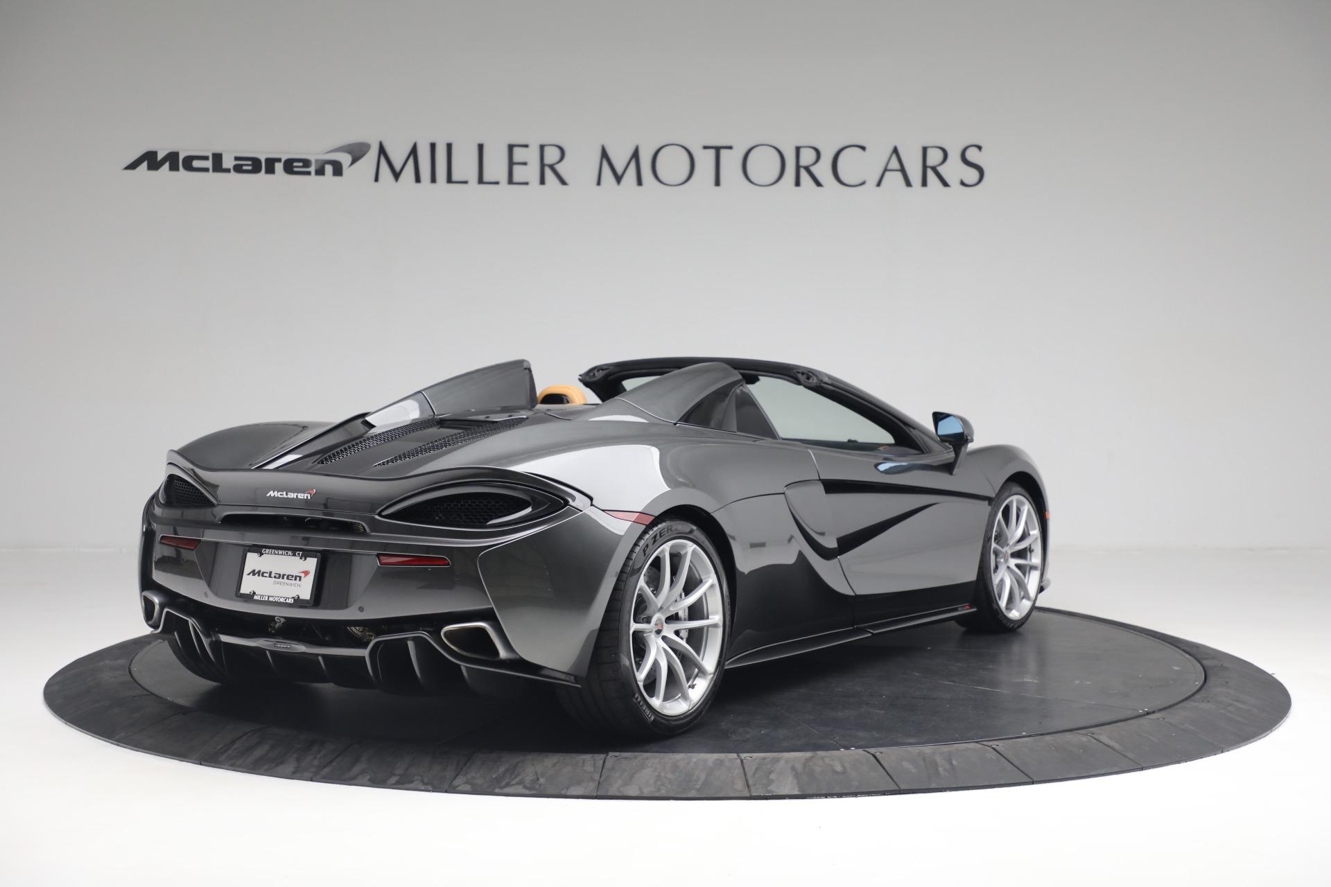 Used 2018 McLaren 570S Spider For Sale In Greenwich, CT. Alfa Romeo of Greenwich, MC363 2308_p7