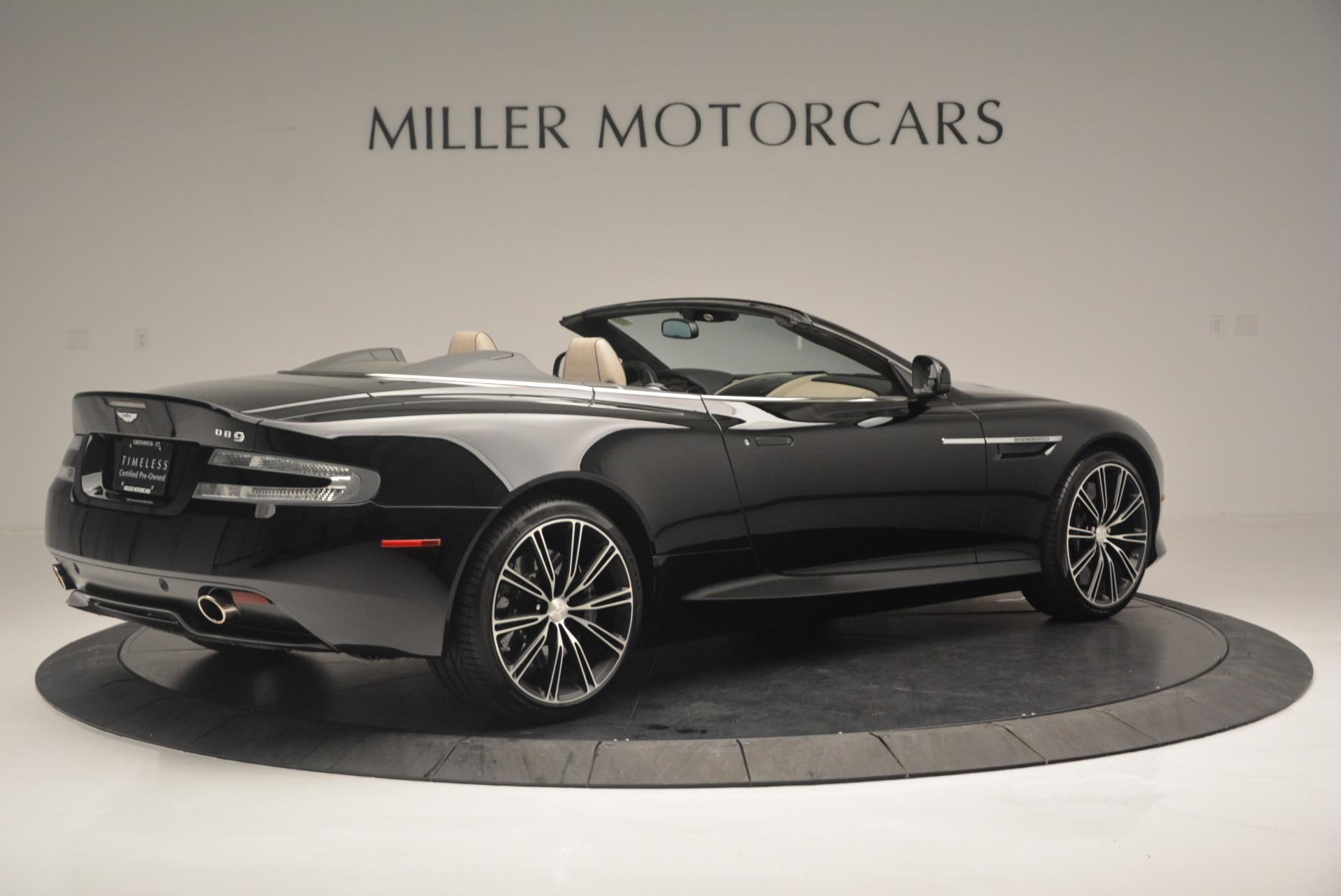 Used 2015 Aston Martin DB9 Volante For Sale In Greenwich, CT. Alfa Romeo of Greenwich, 7389 2318_p8