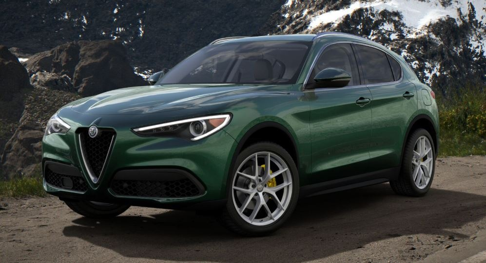 New 2018 Alfa Romeo Stelvio Ti Q4 For Sale In Greenwich, CT. Alfa Romeo of Greenwich, LW182