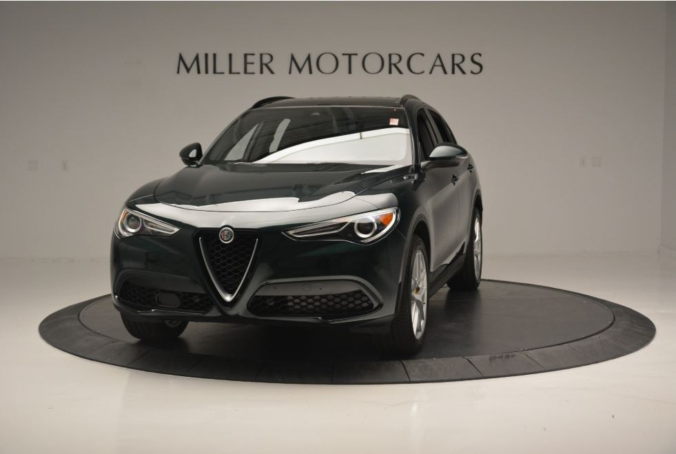 New 2018 Alfa Romeo Stelvio Ti Sport Q4 For Sale In Greenwich, CT. Alfa Romeo of Greenwich, LW184