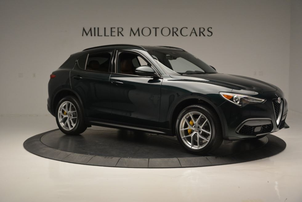 New 2018 Alfa Romeo Stelvio Ti Sport Q4 For Sale In Greenwich, CT. Alfa Romeo of Greenwich, LW184 2322_p11