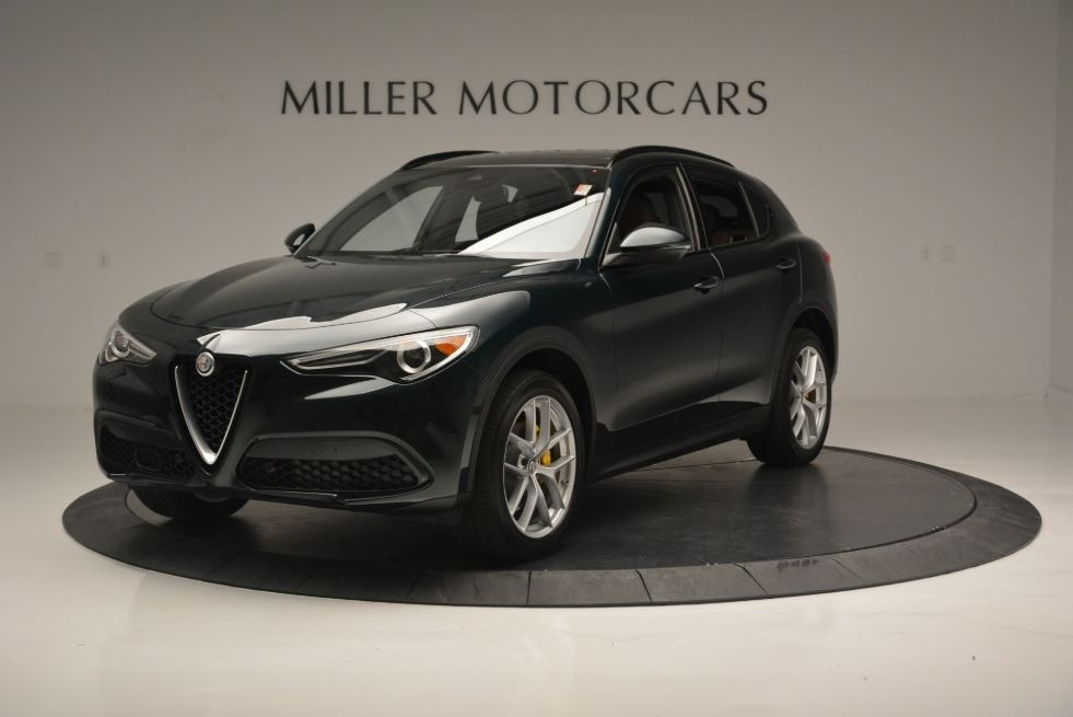 New 2018 Alfa Romeo Stelvio Ti Sport Q4 For Sale In Greenwich, CT. Alfa Romeo of Greenwich, LW184 2322_p2