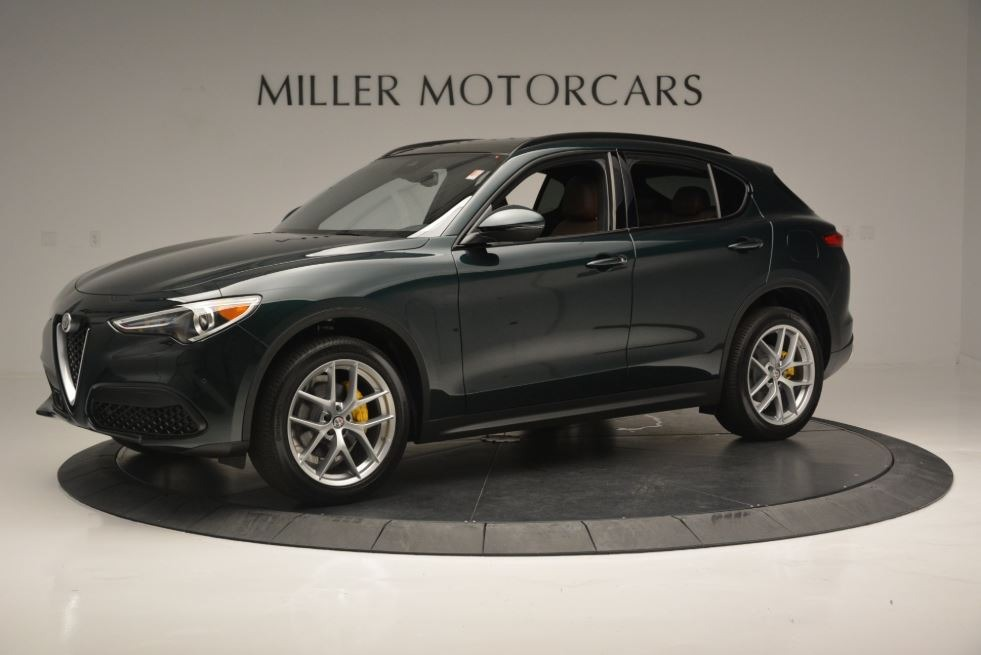 New 2018 Alfa Romeo Stelvio Ti Sport Q4 For Sale In Greenwich, CT. Alfa Romeo of Greenwich, LW184 2322_p3