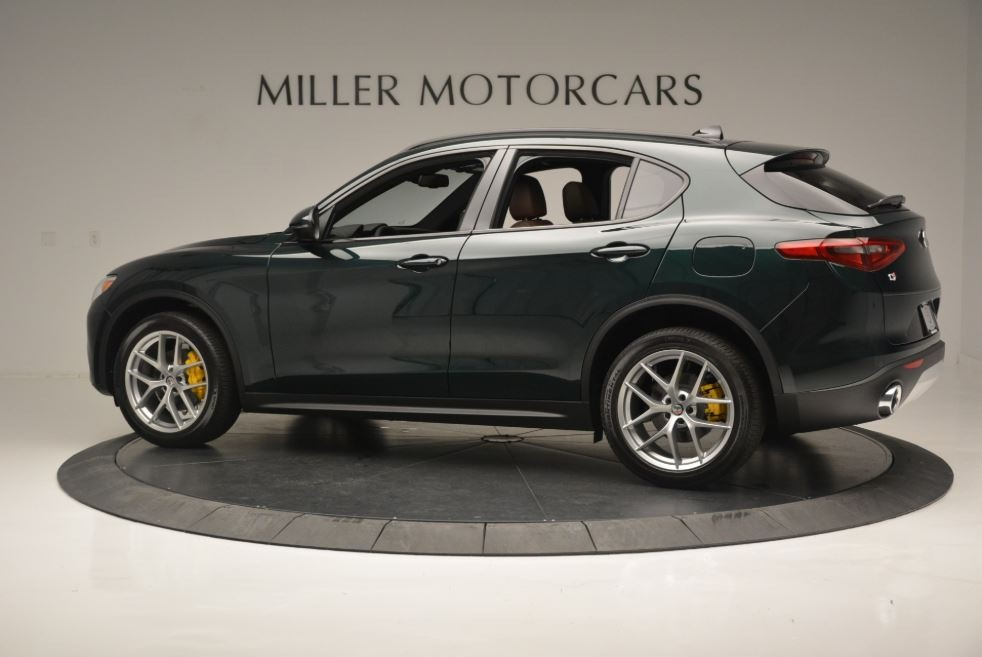 New 2018 Alfa Romeo Stelvio Ti Sport Q4 For Sale In Greenwich, CT. Alfa Romeo of Greenwich, LW184 2322_p5